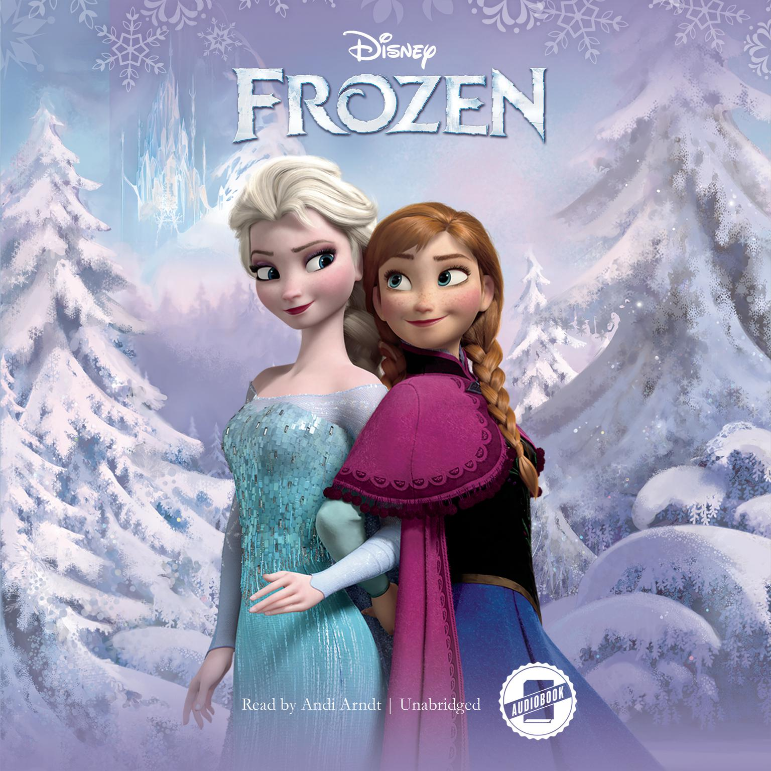 Printable Frozen Audiobook Cover Art