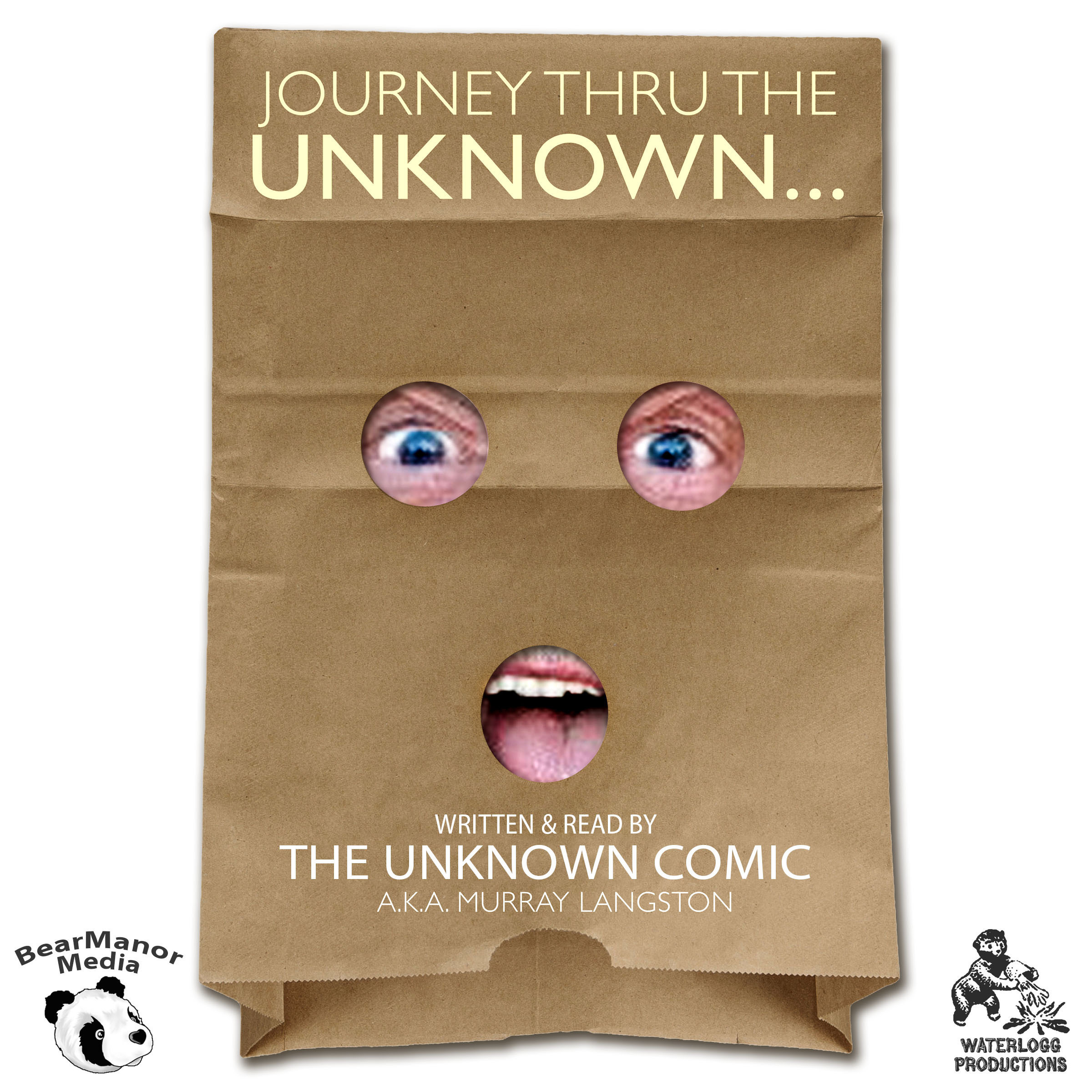 Printable Journey thru the Unknown: The Memoirs of the Unknown Comic Audiobook Cover Art