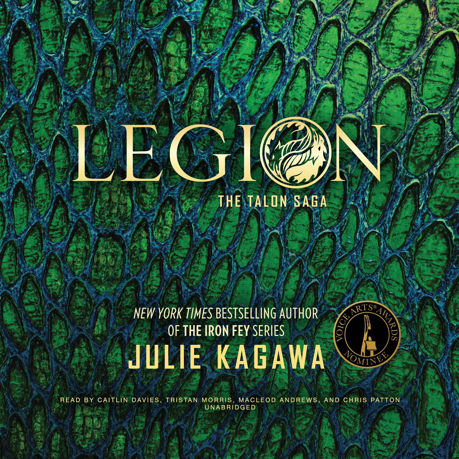 Printable Legion Audiobook Cover Art