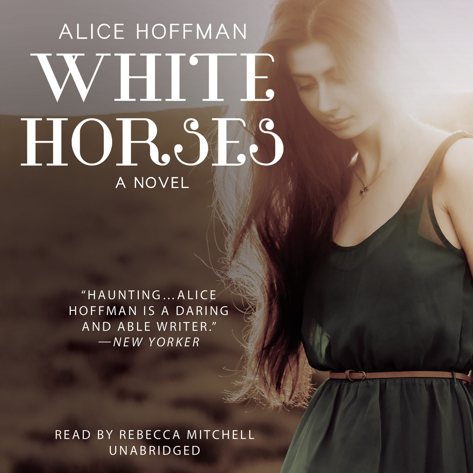 Printable White Horses Audiobook Cover Art