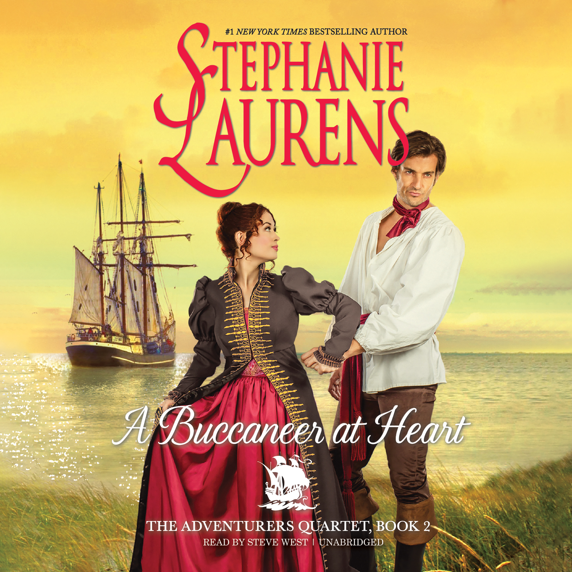 Printable A Buccaneer at Heart Audiobook Cover Art