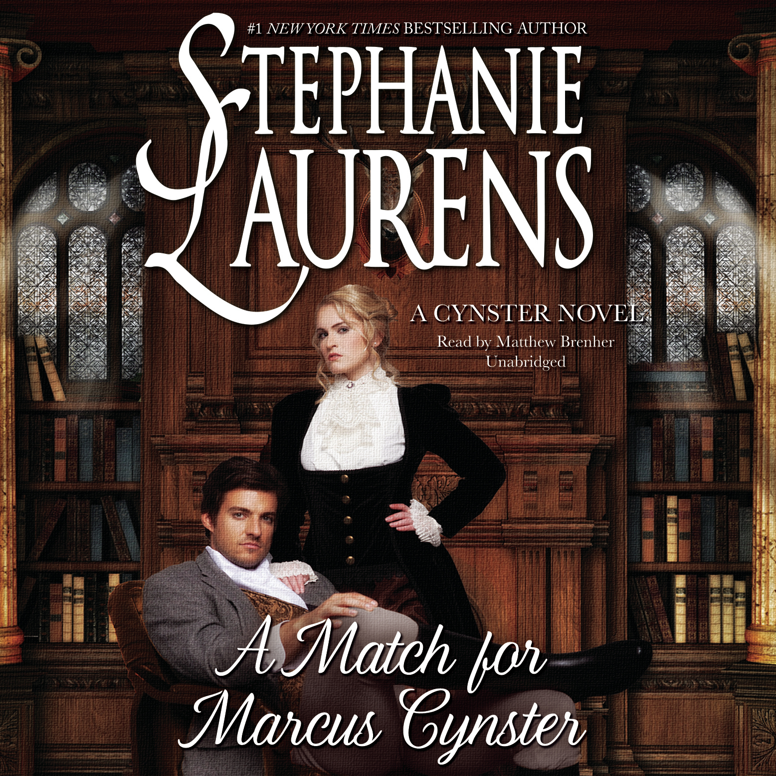 Printable A Match for Marcus Cynster Audiobook Cover Art