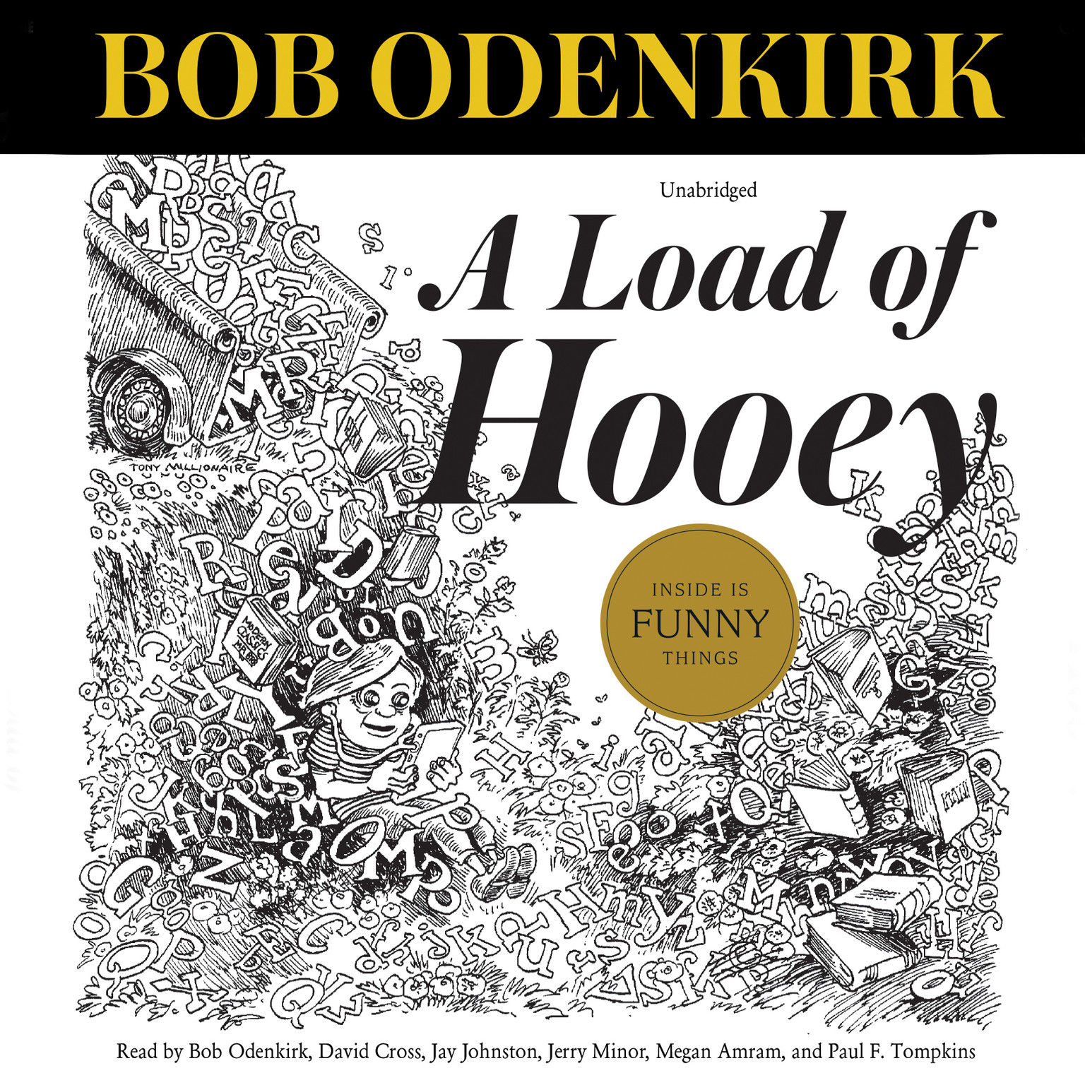 Printable A Load of Hooey: A Collection of New Short Humor Fiction Audiobook Cover Art