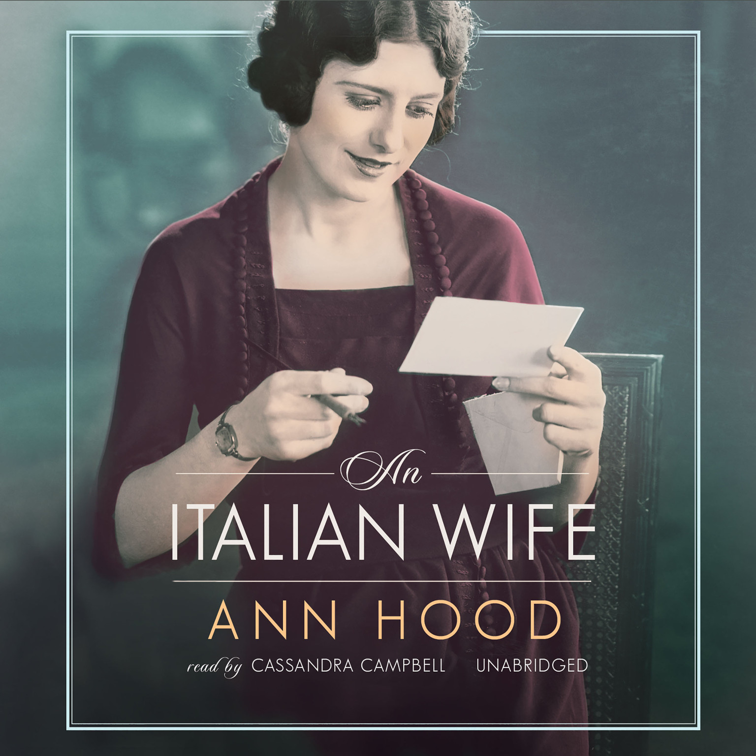 Printable An Italian Wife Audiobook Cover Art