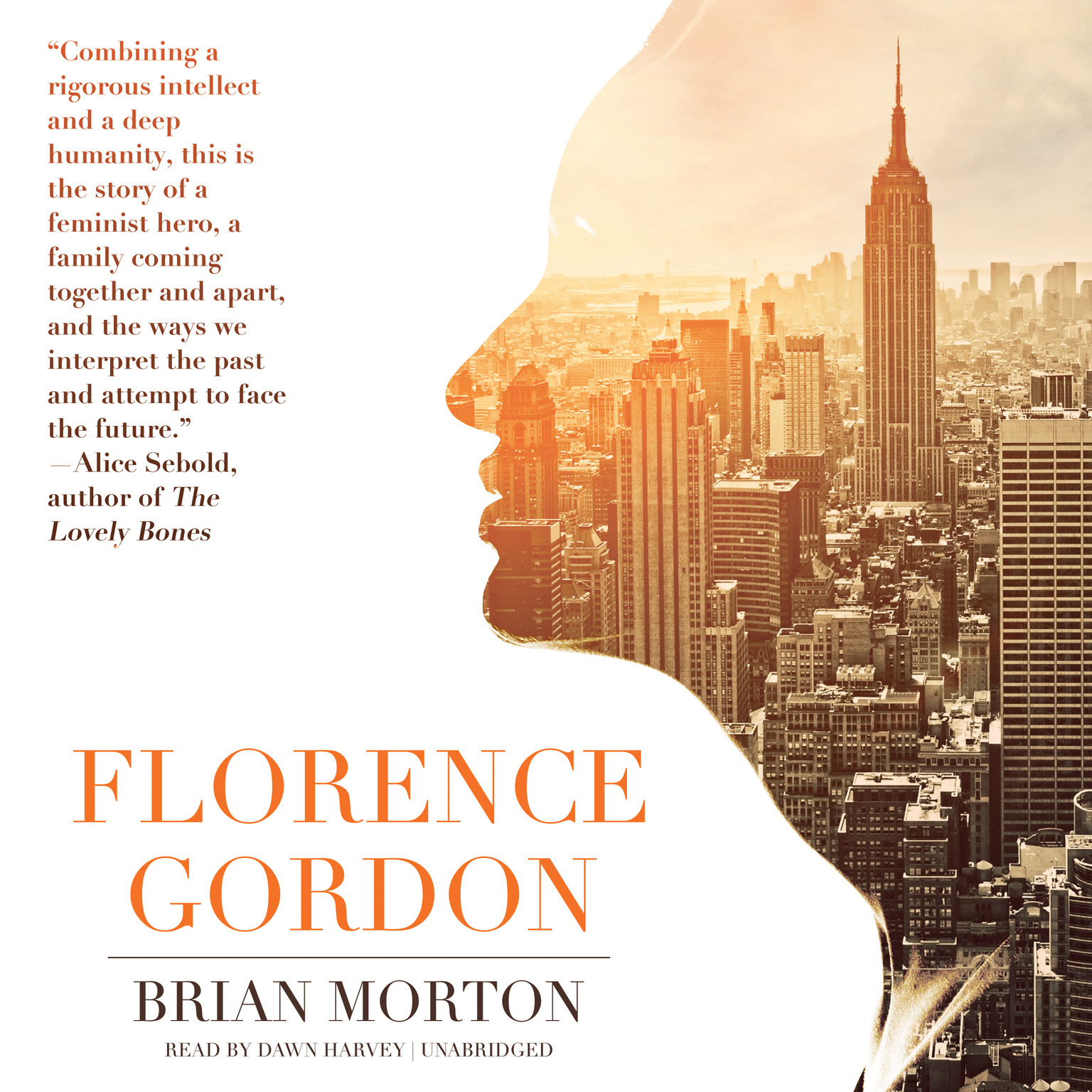 Printable Florence Gordon Audiobook Cover Art
