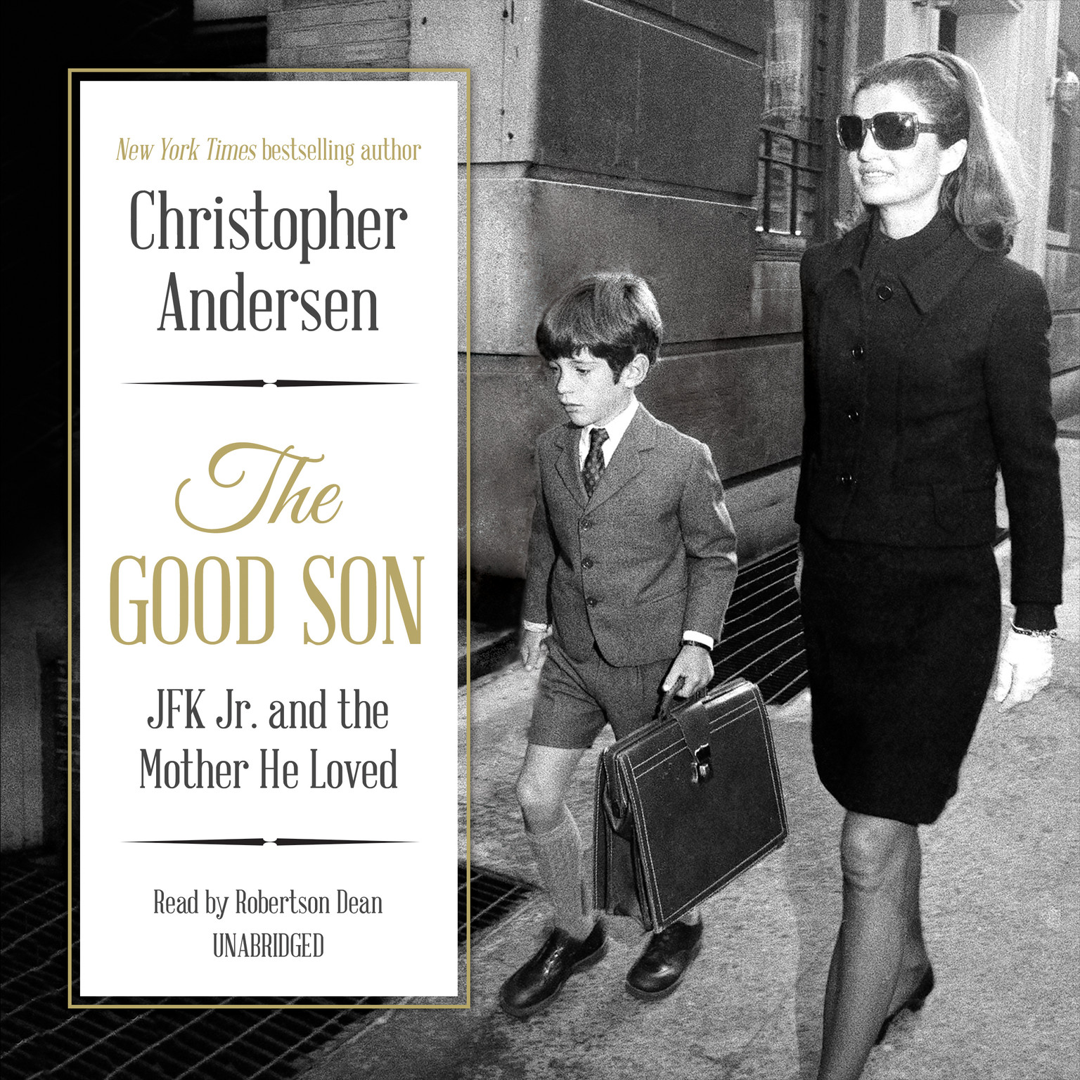 Printable The Good Son: JFK Jr. and the Mother He Loved Audiobook Cover Art