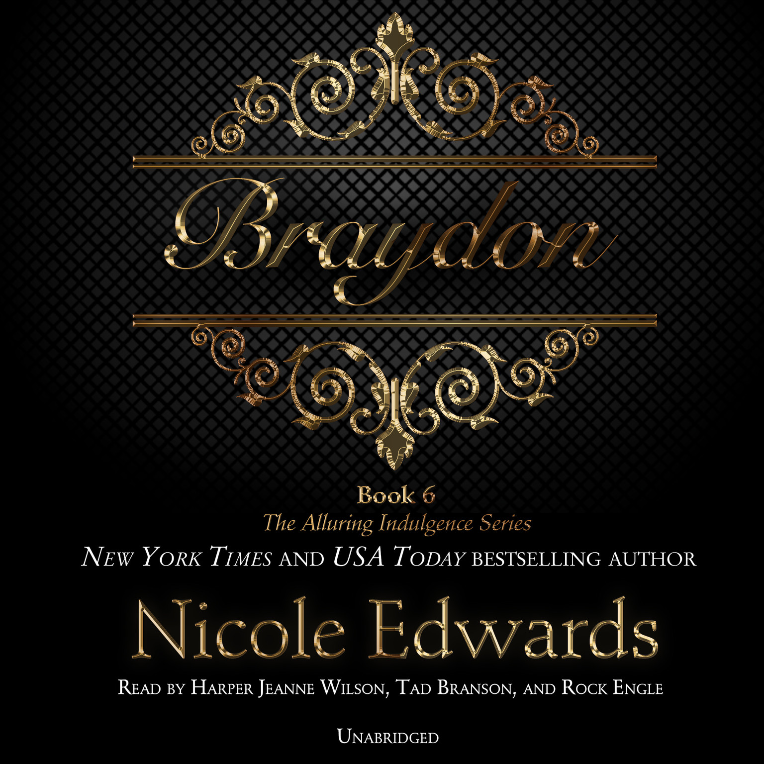 Printable Braydon: The Alluring Indulgence Series, Book 6 Audiobook Cover Art