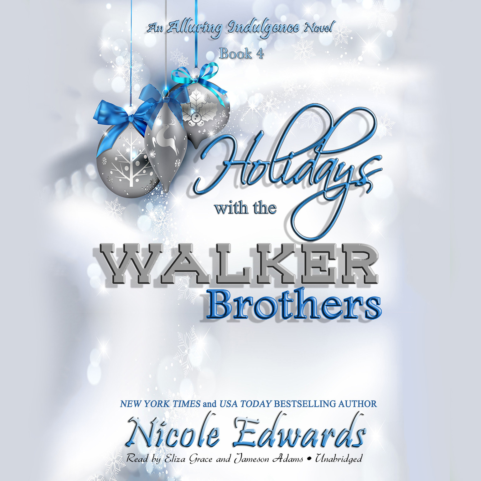 Printable Holidays with the Walker Brothers: An Alluring Indulgence Novel, Book 4 Audiobook Cover Art