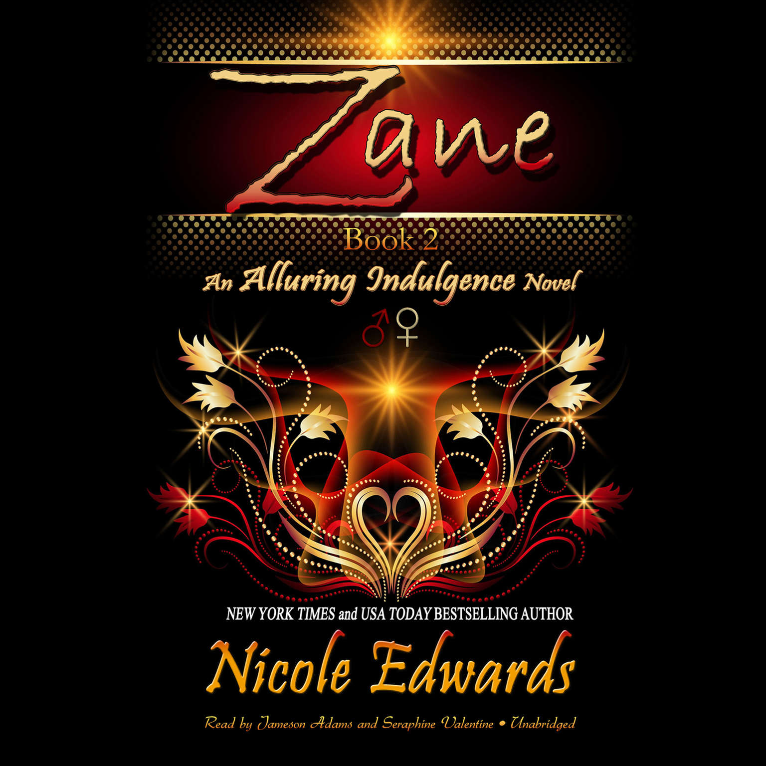 Printable Zane: An Alluring Indulgence Novel, Book 2 Audiobook Cover Art