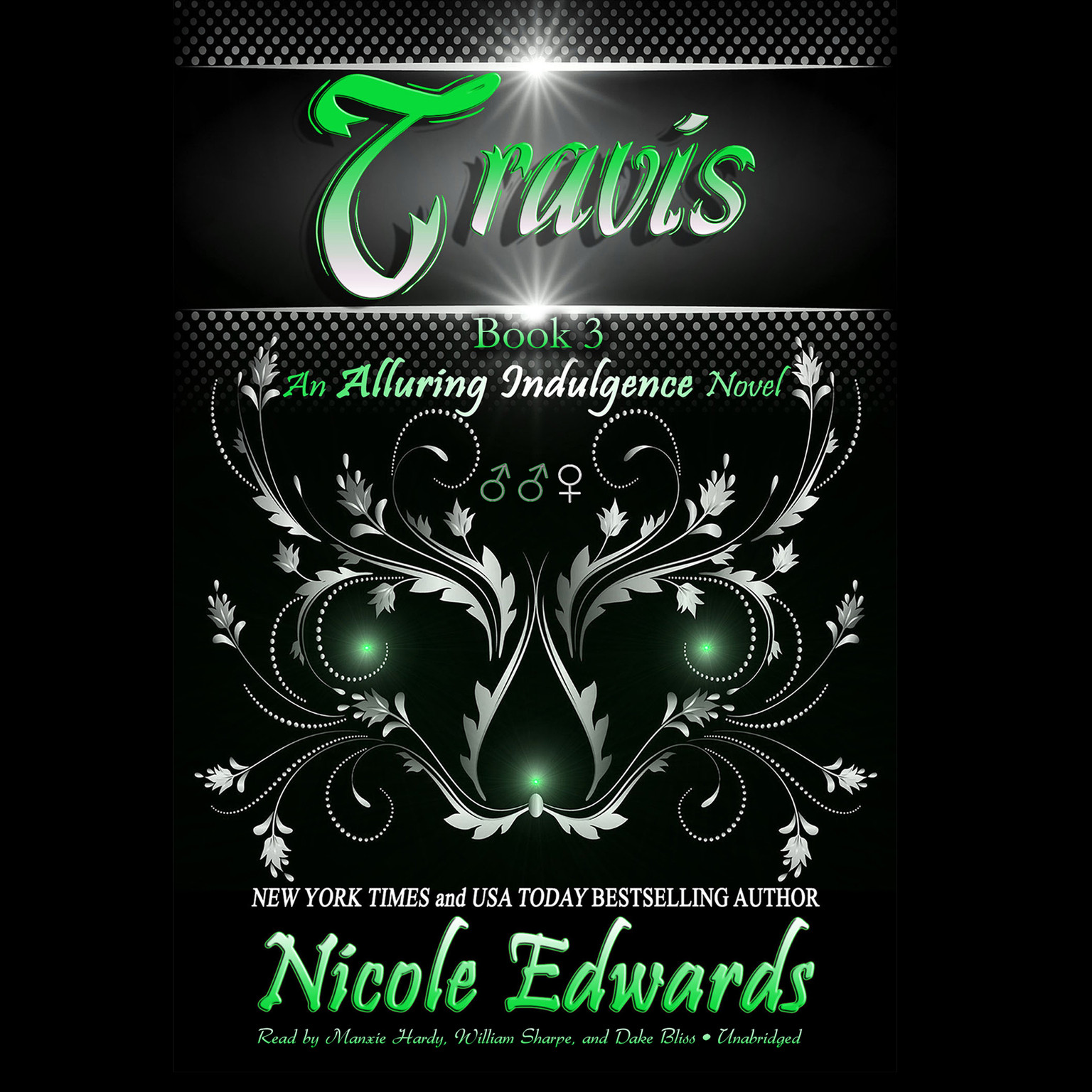 Printable Travis: An Alluring Indulgence Novel, Book 3 Audiobook Cover Art