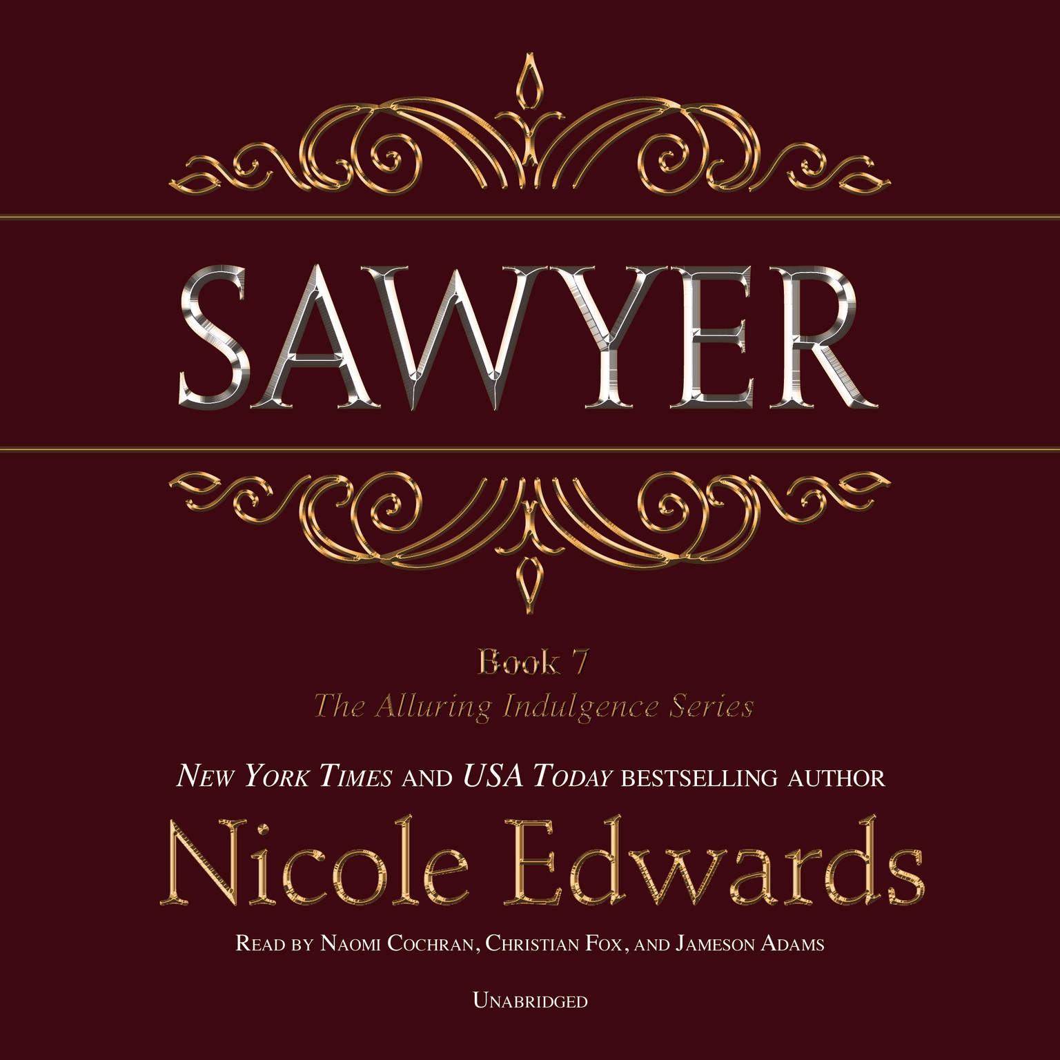 Printable Sawyer Audiobook Cover Art