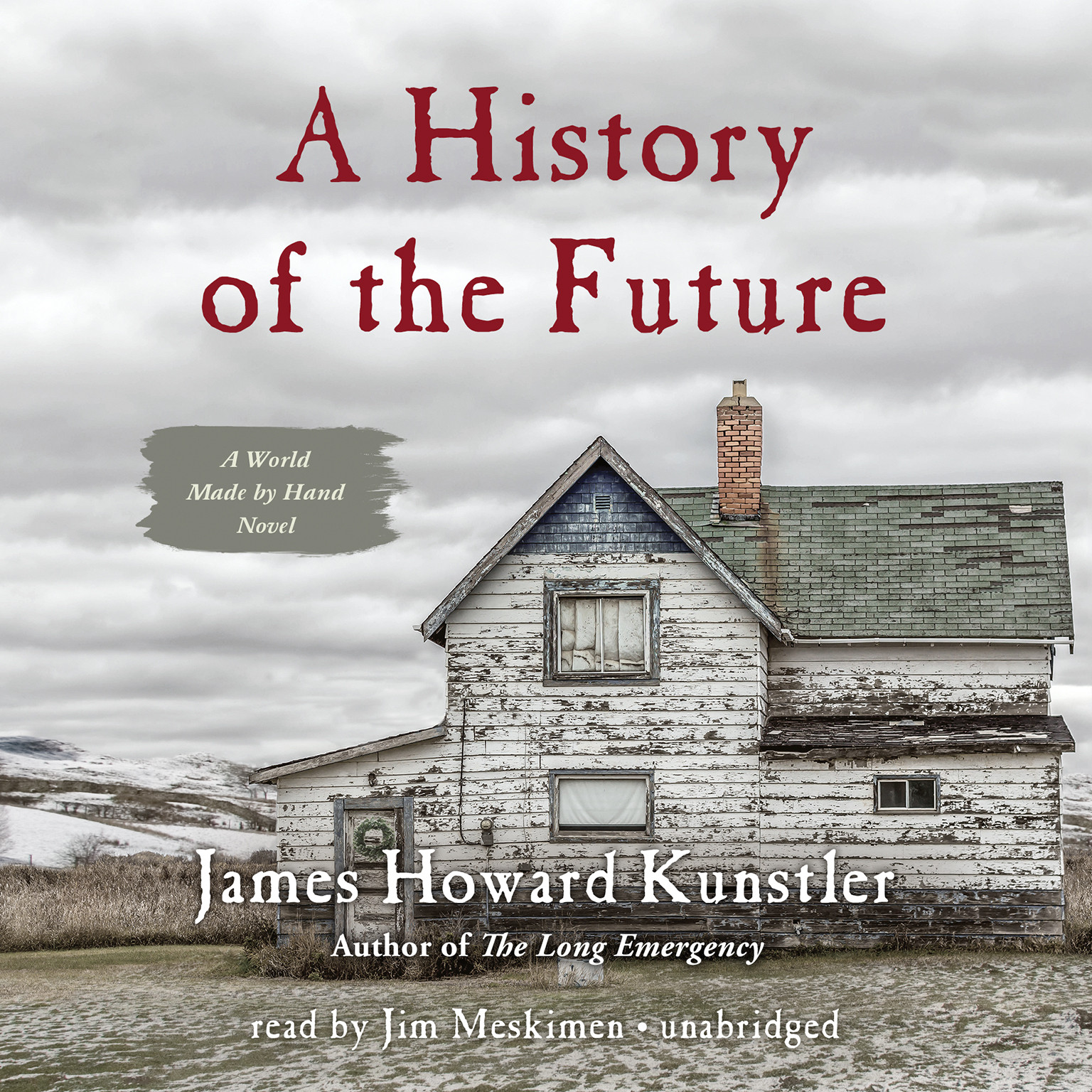 Printable A History of the Future: A World Made by Hand Novel Audiobook Cover Art