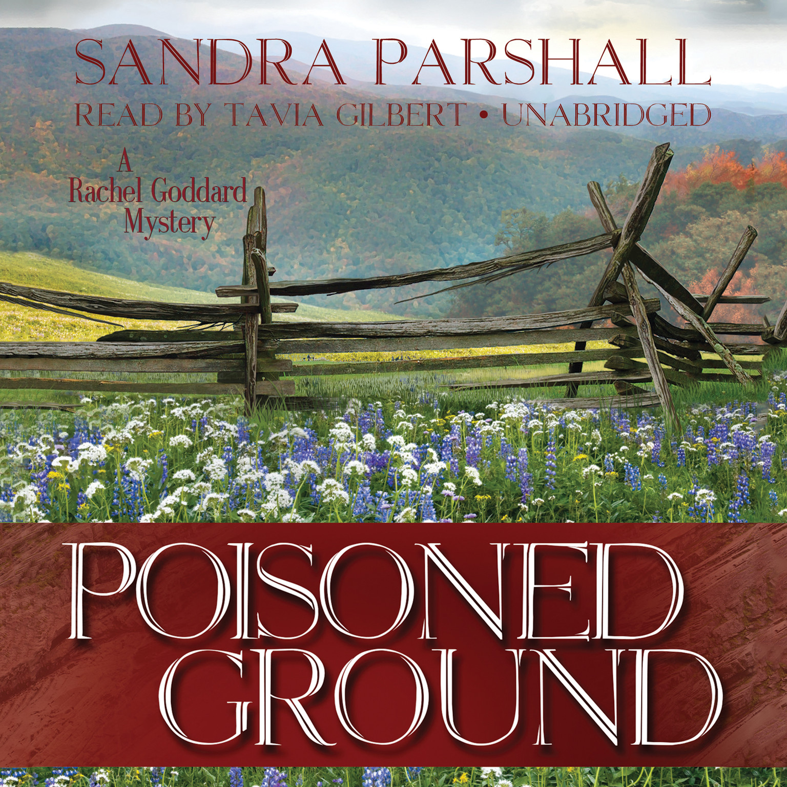 Printable Poisoned Ground: A Rachel Goddard Mystery Audiobook Cover Art