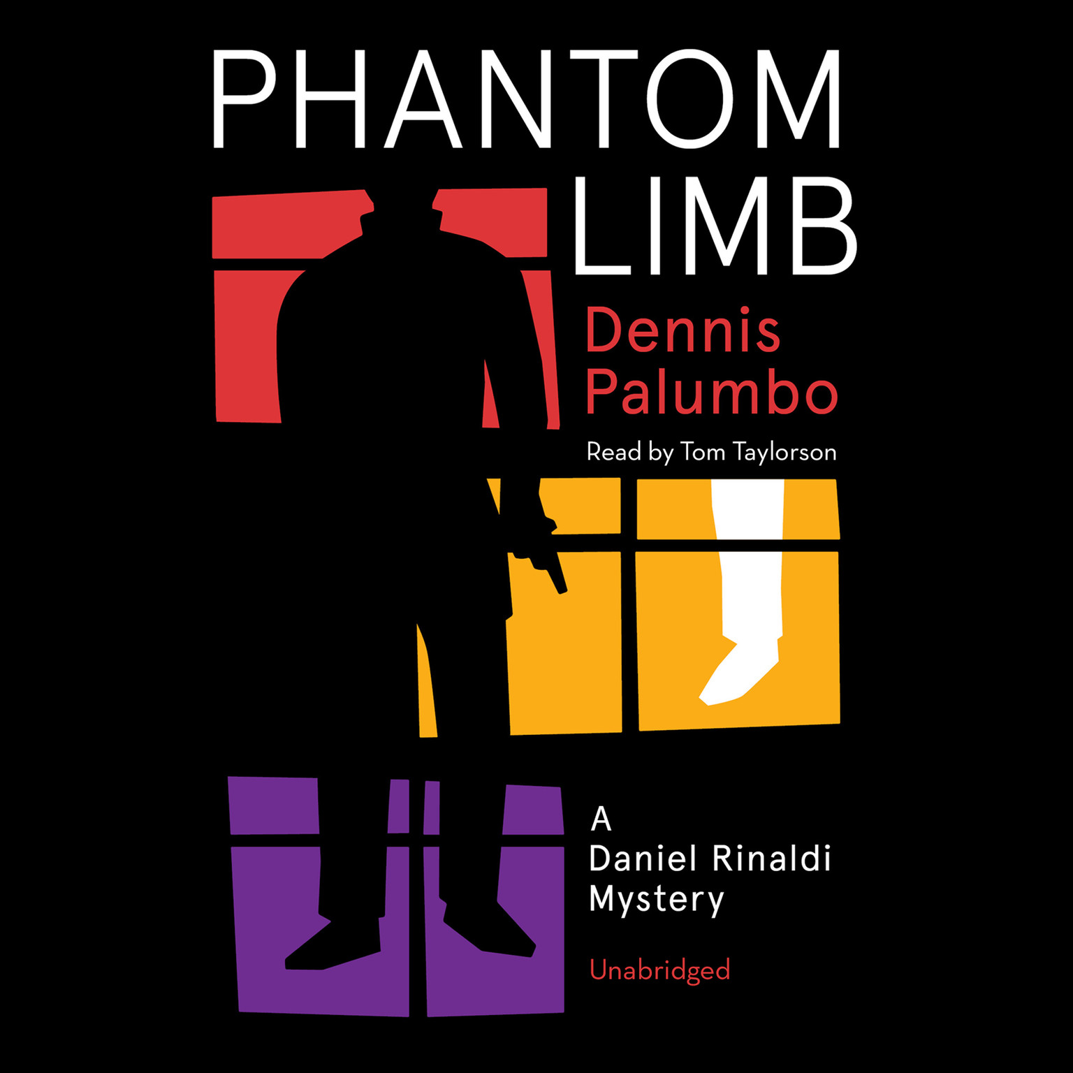 Printable Phantom Limb: A Daniel Rinaldi Mystery Audiobook Cover Art