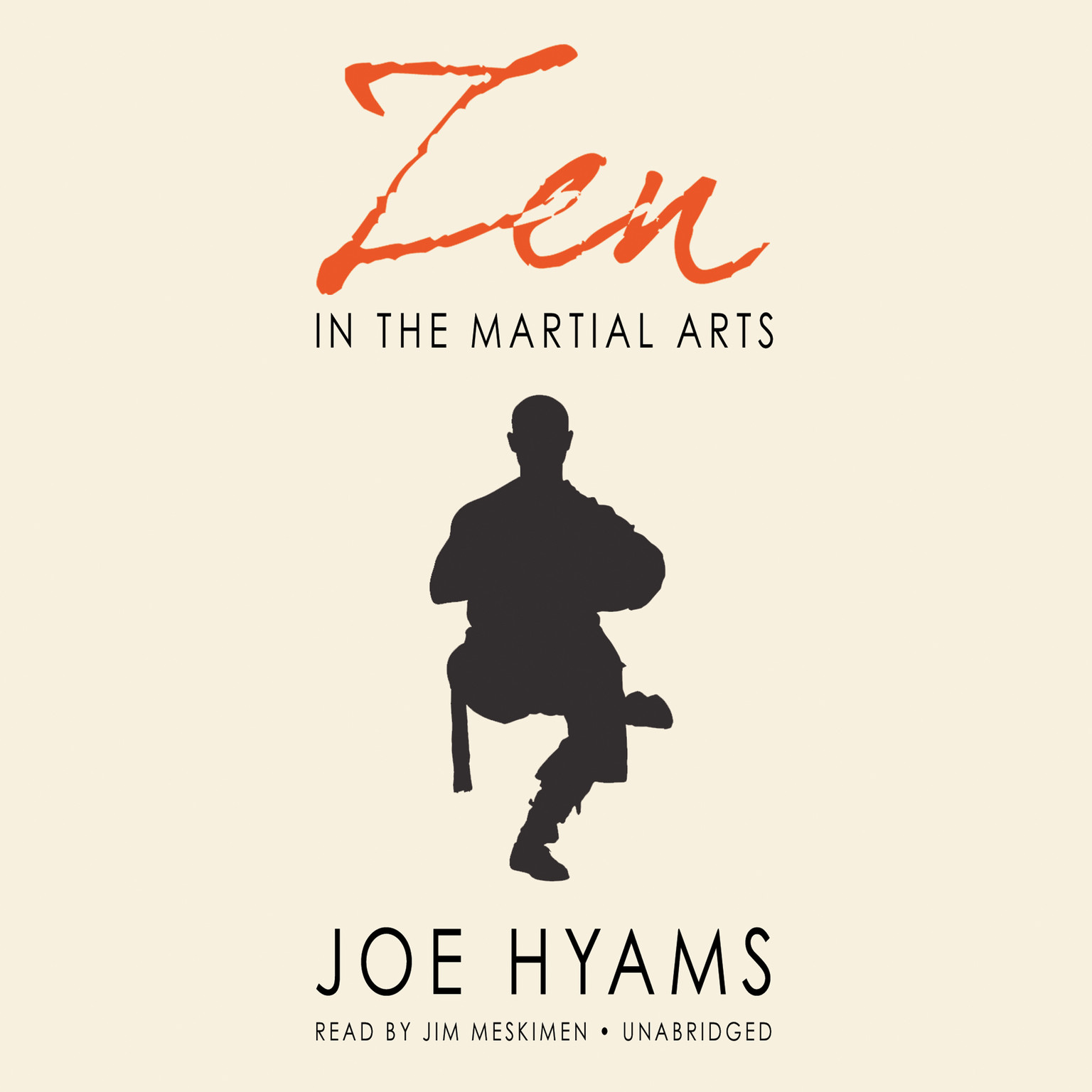 Printable Zen in the Martial Arts Audiobook Cover Art
