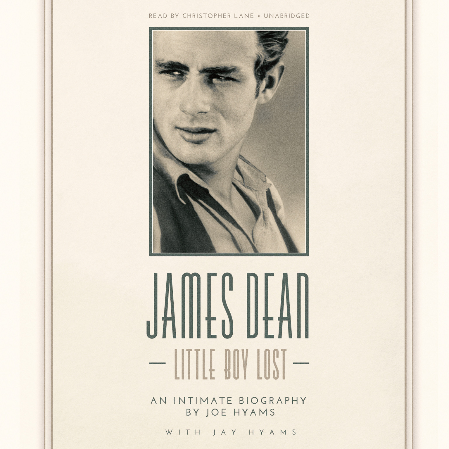 Printable James Dean: Little Boy Lost Audiobook Cover Art