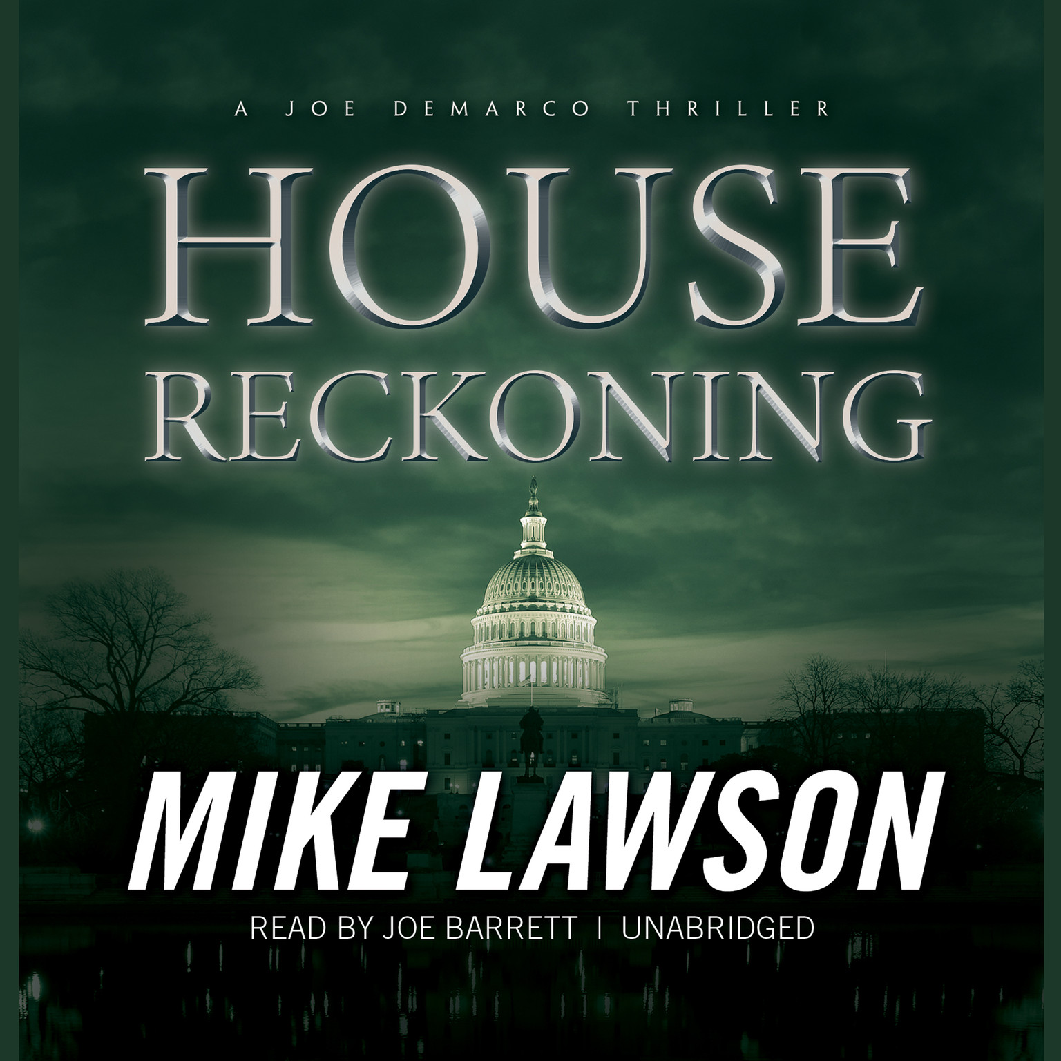 Printable House Reckoning: A Joe DeMarco Thriller Audiobook Cover Art