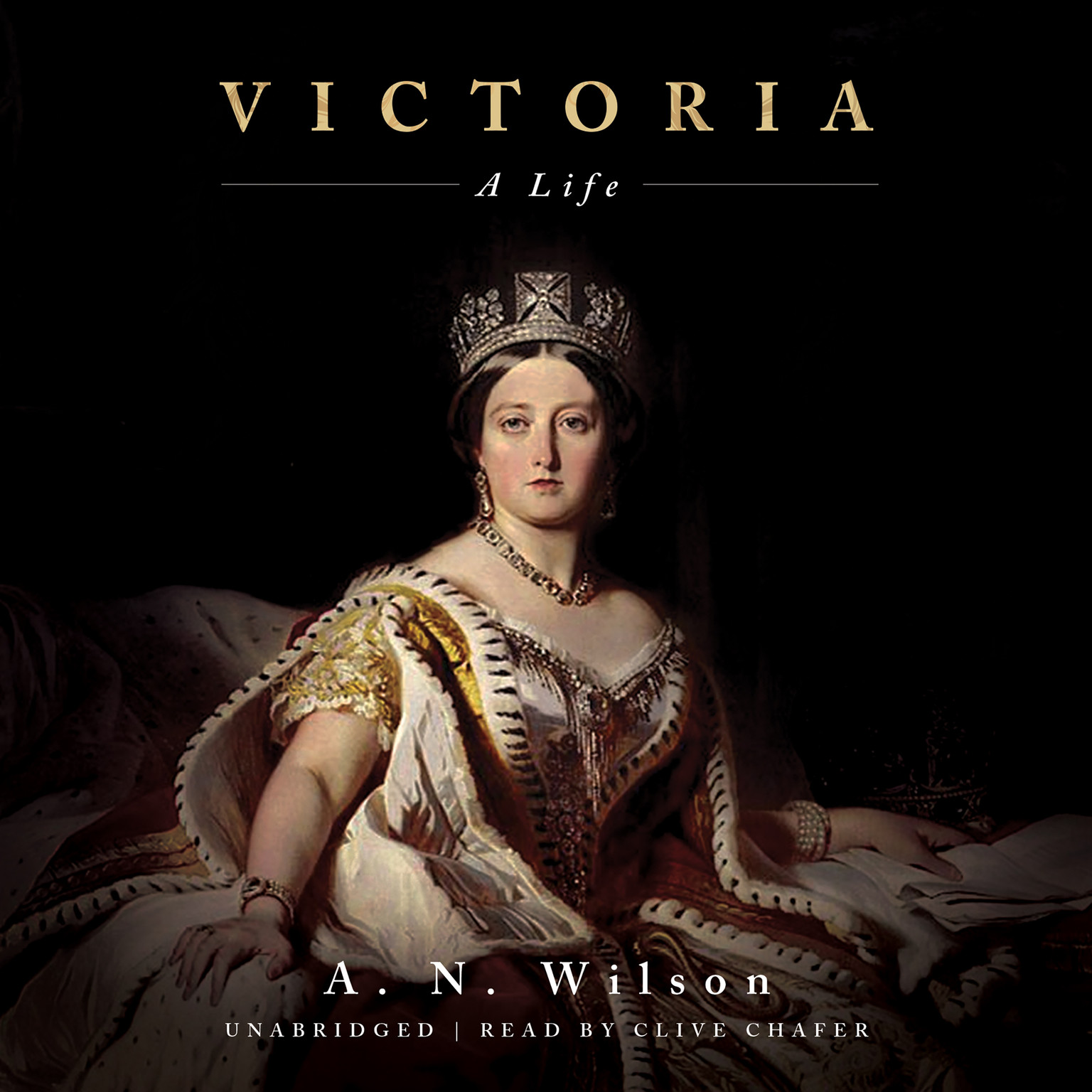Printable Victoria: A Life Audiobook Cover Art