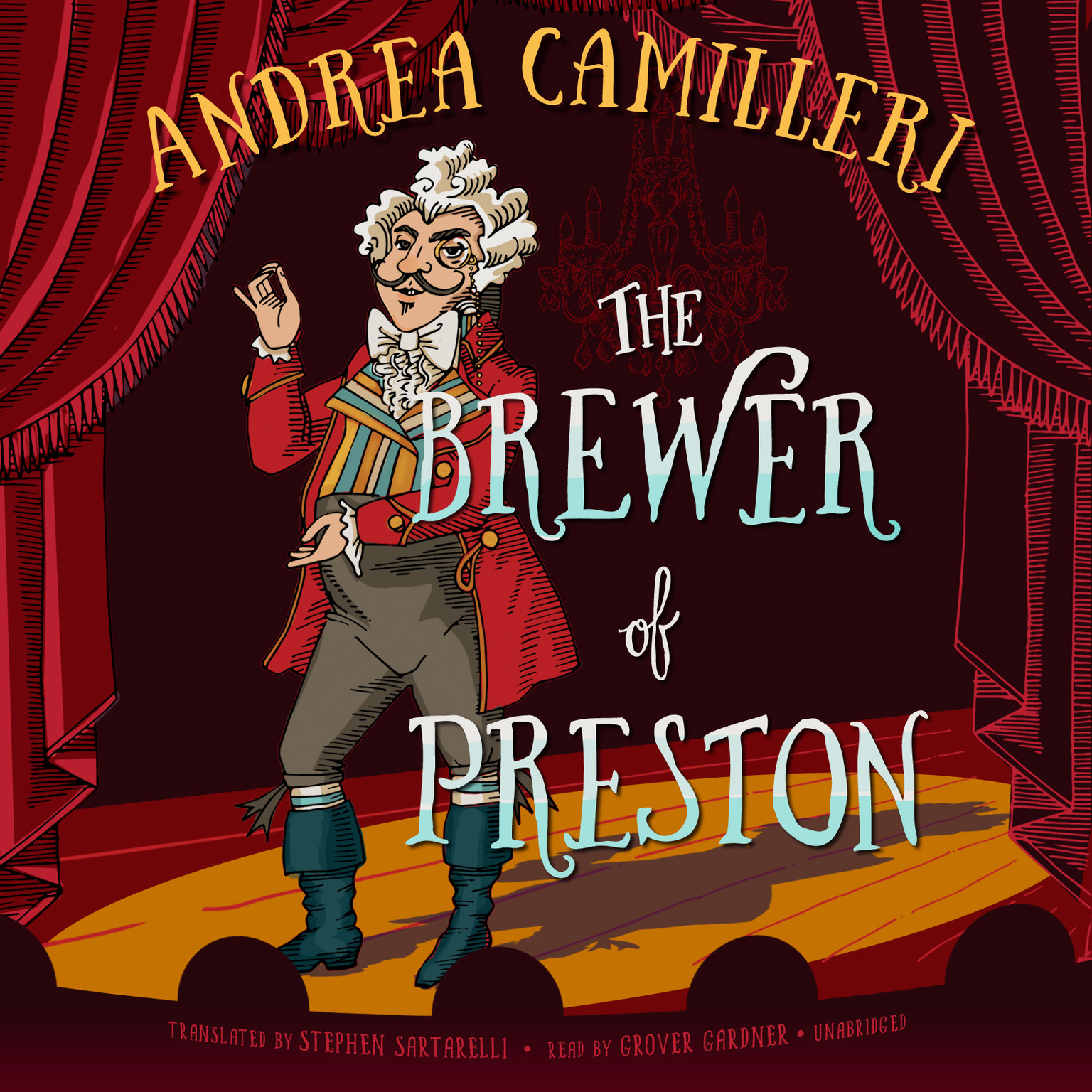 Printable The Brewer of Preston: A Novel Audiobook Cover Art
