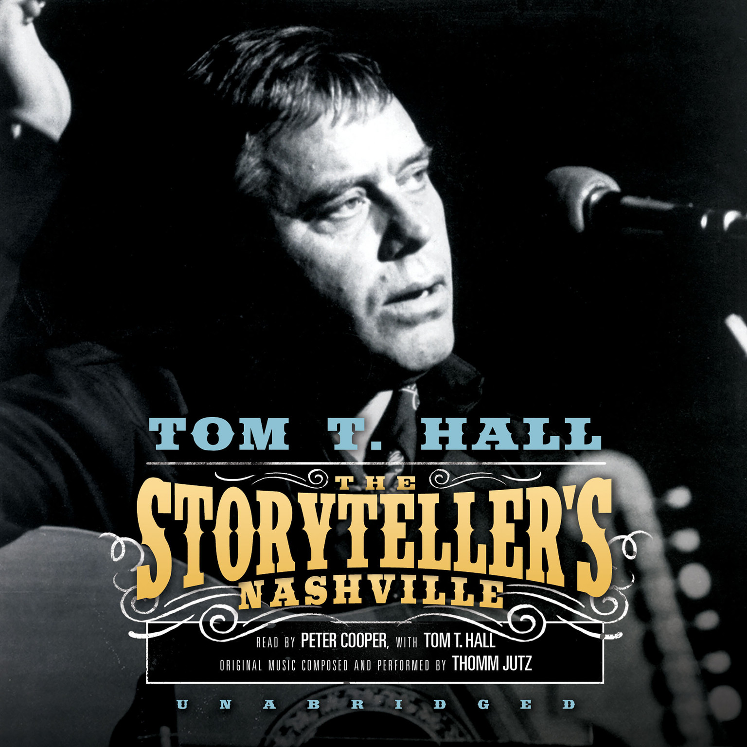 Printable The Storyteller's Nashville Audiobook Cover Art