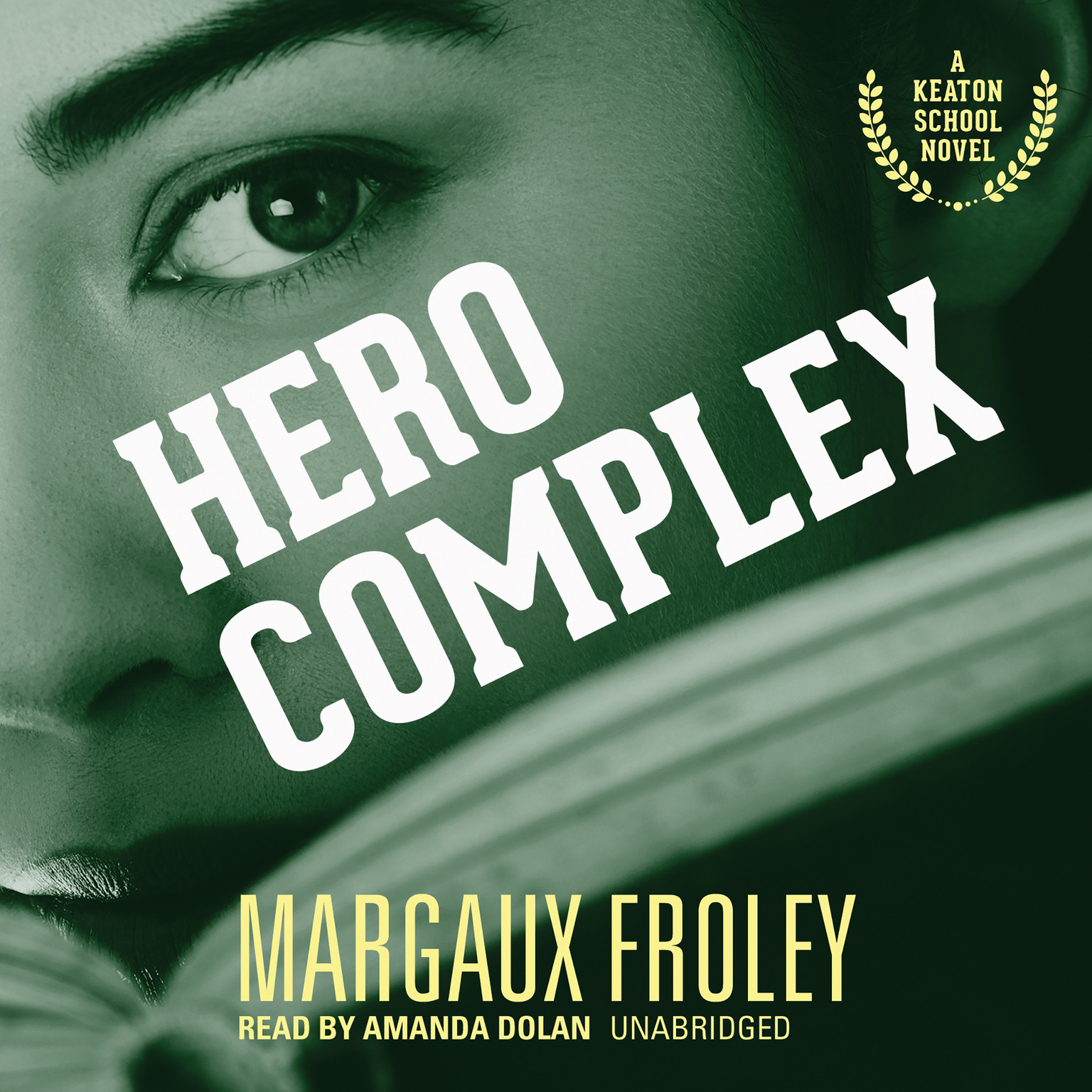 Printable Hero Complex Audiobook Cover Art