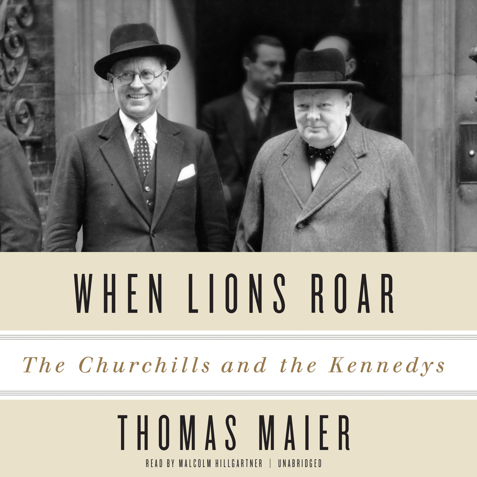 Printable When Lions Roar: The Churchills and the Kennedys Audiobook Cover Art