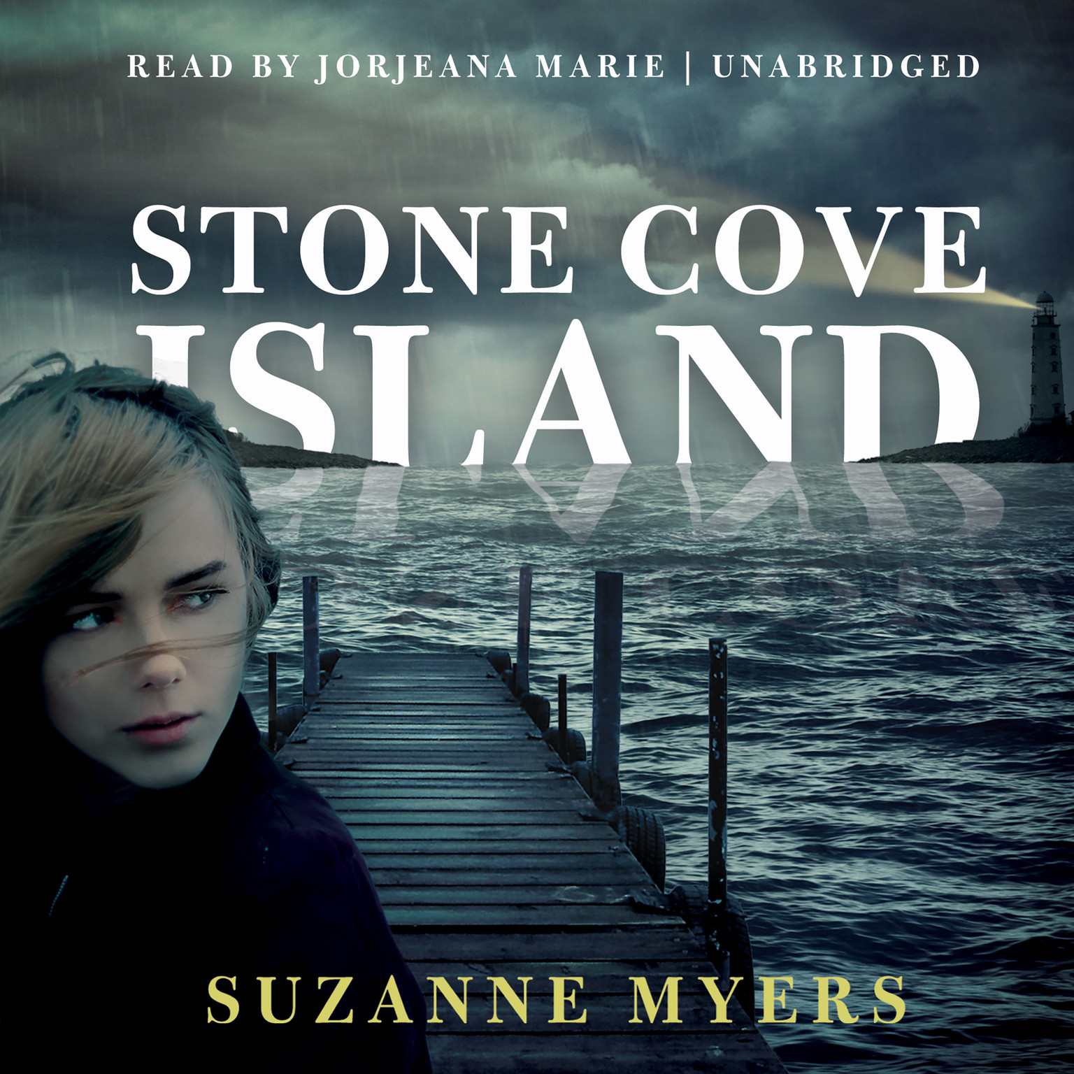 Printable Stone Cove Island Audiobook Cover Art