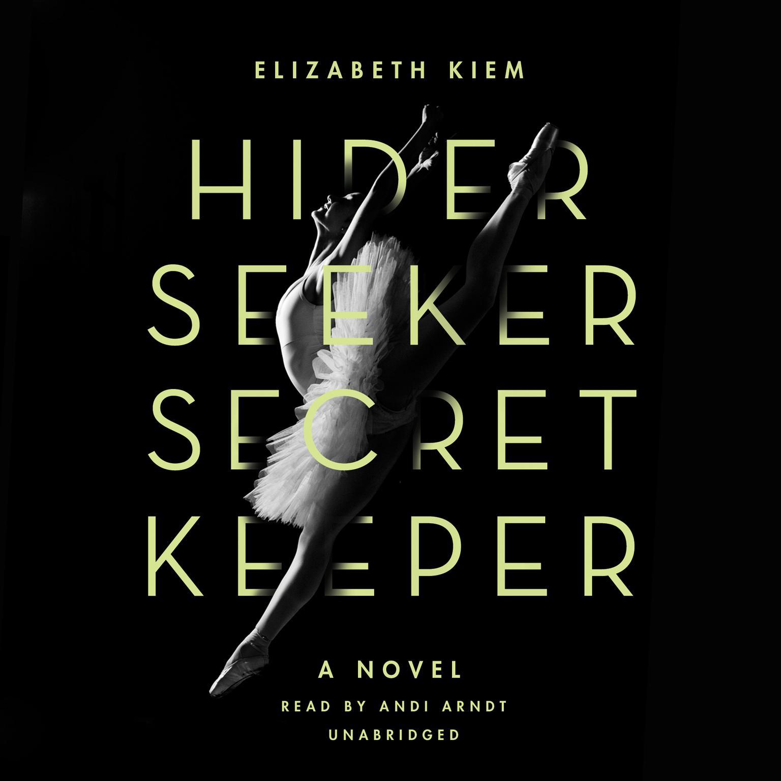 Printable Hider, Seeker, Secret Keeper Audiobook Cover Art