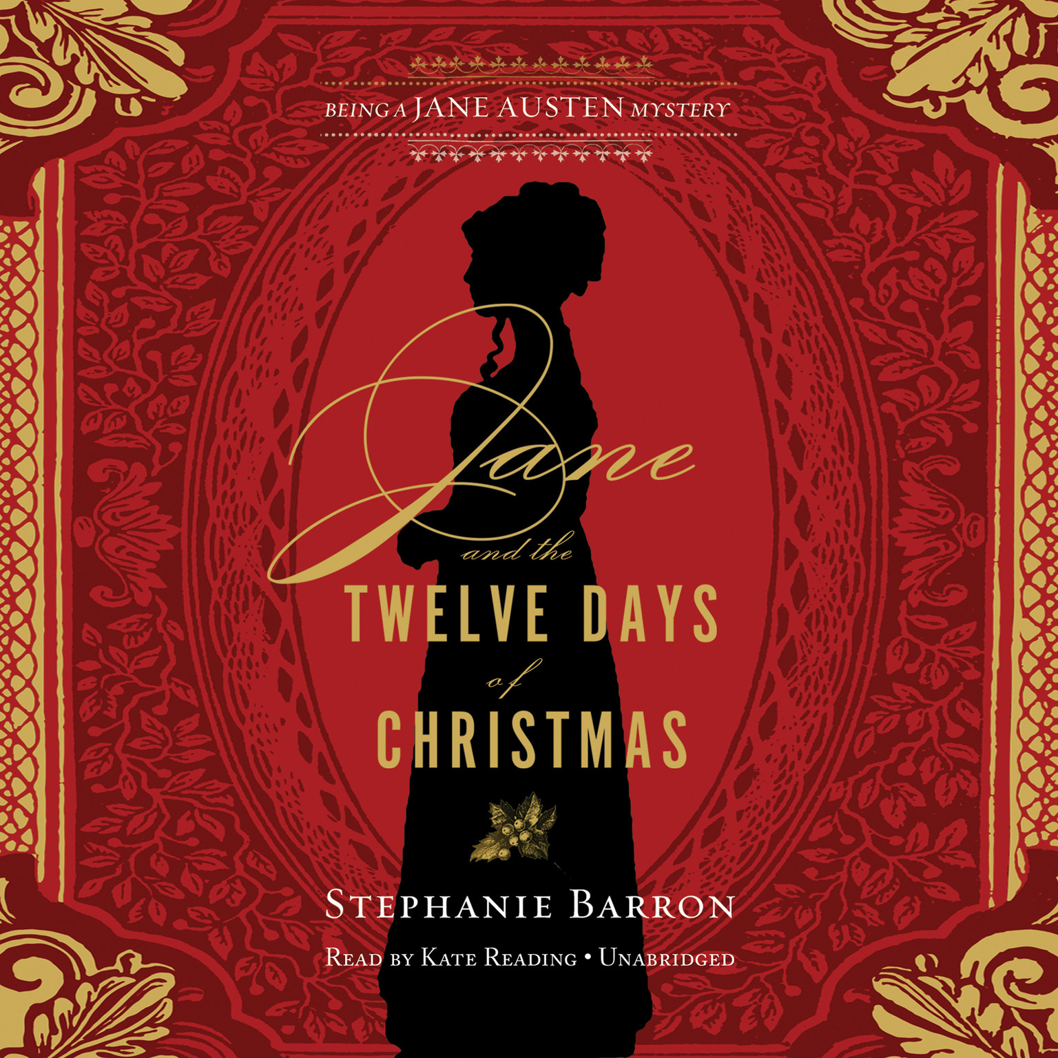 Printable Jane and the Twelve Days of Christmas: Being a Jane Austen Mystery Audiobook Cover Art