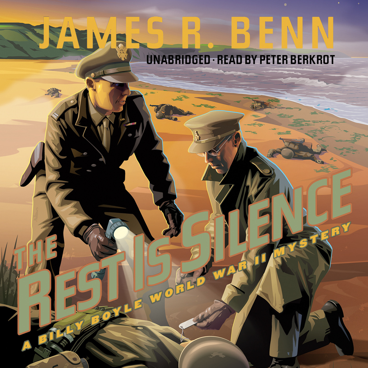 Printable The Rest Is Silence: A Billy Boyle World War II Mystery Audiobook Cover Art