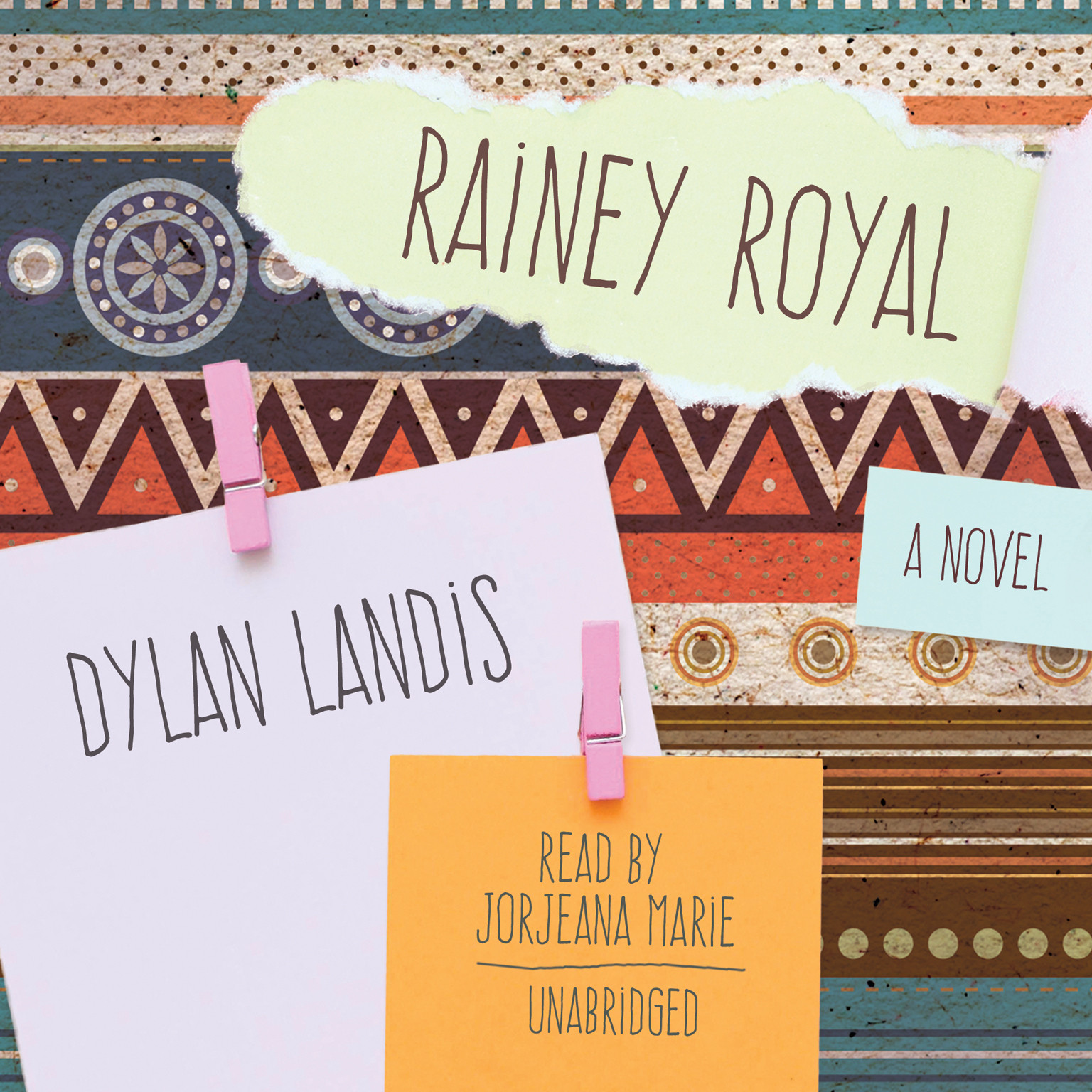 Printable Rainey Royal Audiobook Cover Art