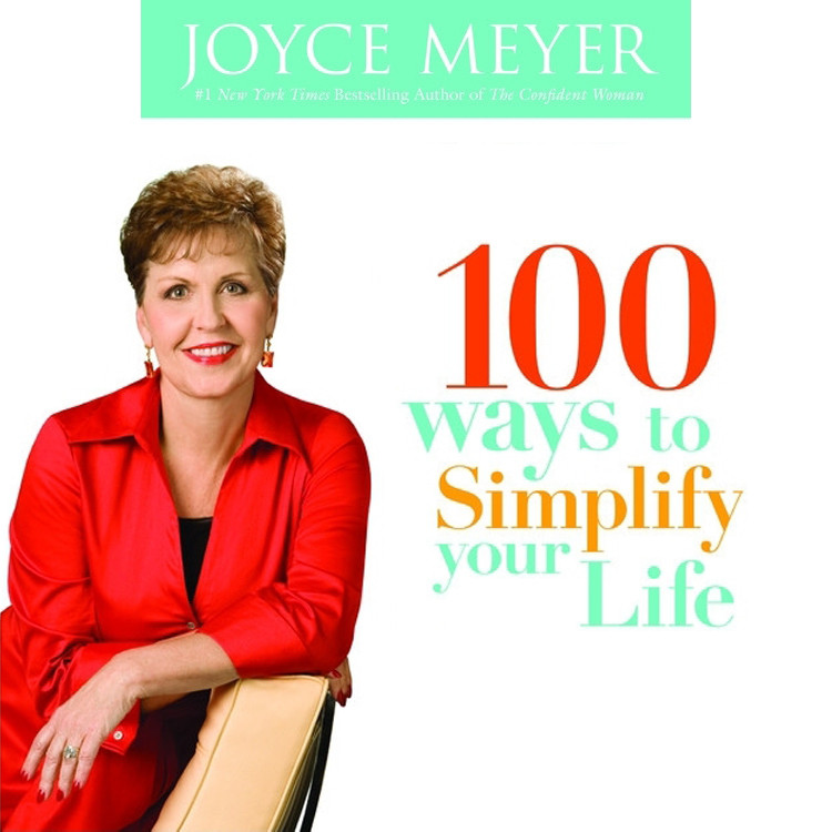 Printable 100 Ways to Simplify Your Life Audiobook Cover Art