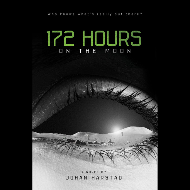 Printable 172 Hours on the Moon Audiobook Cover Art