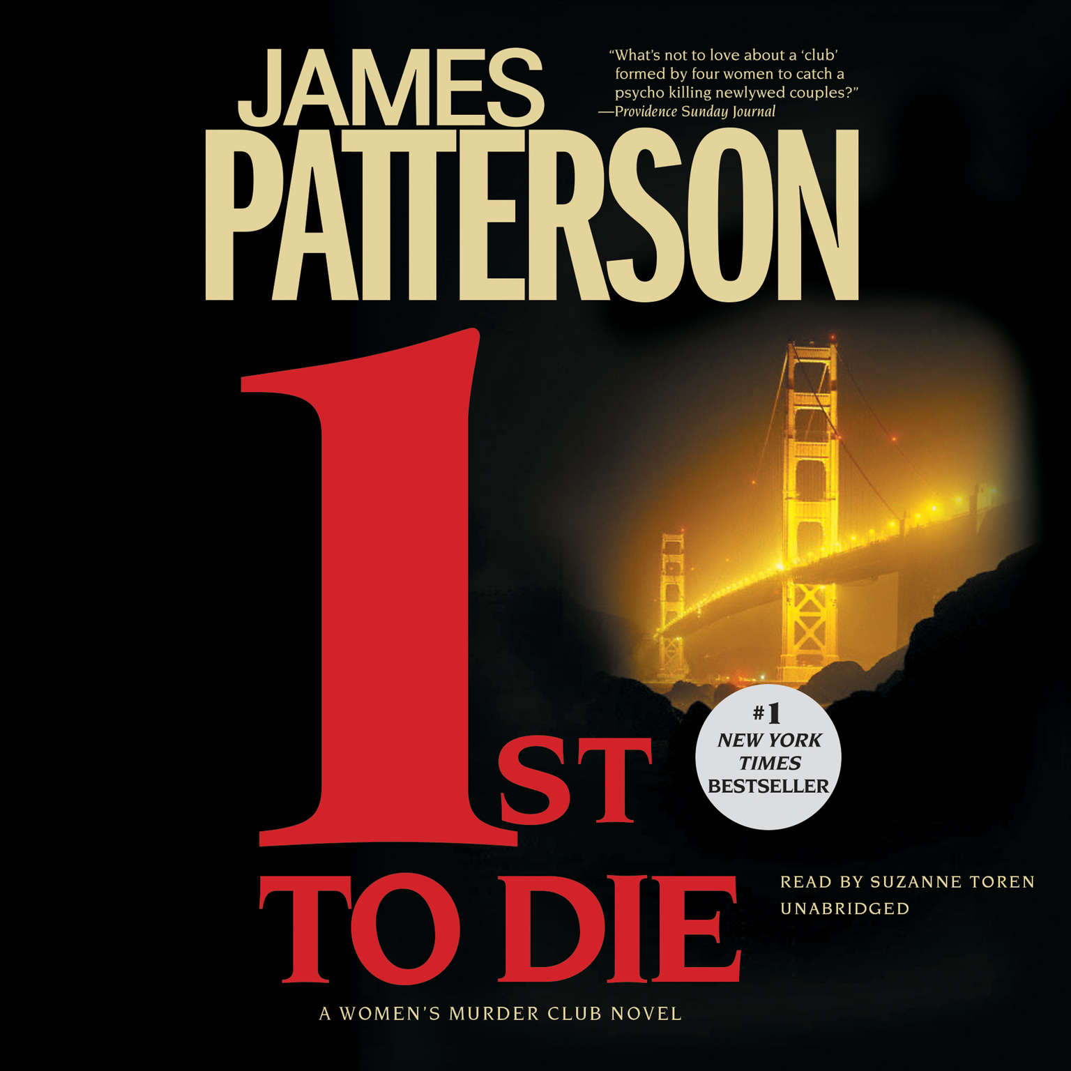 Printable 1st to Die Audiobook Cover Art