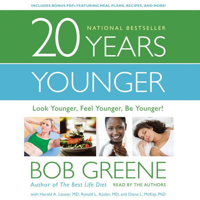 Printable 20 Years Younger: Look Younger, Feel Younger, Be Younger! Audiobook Cover Art