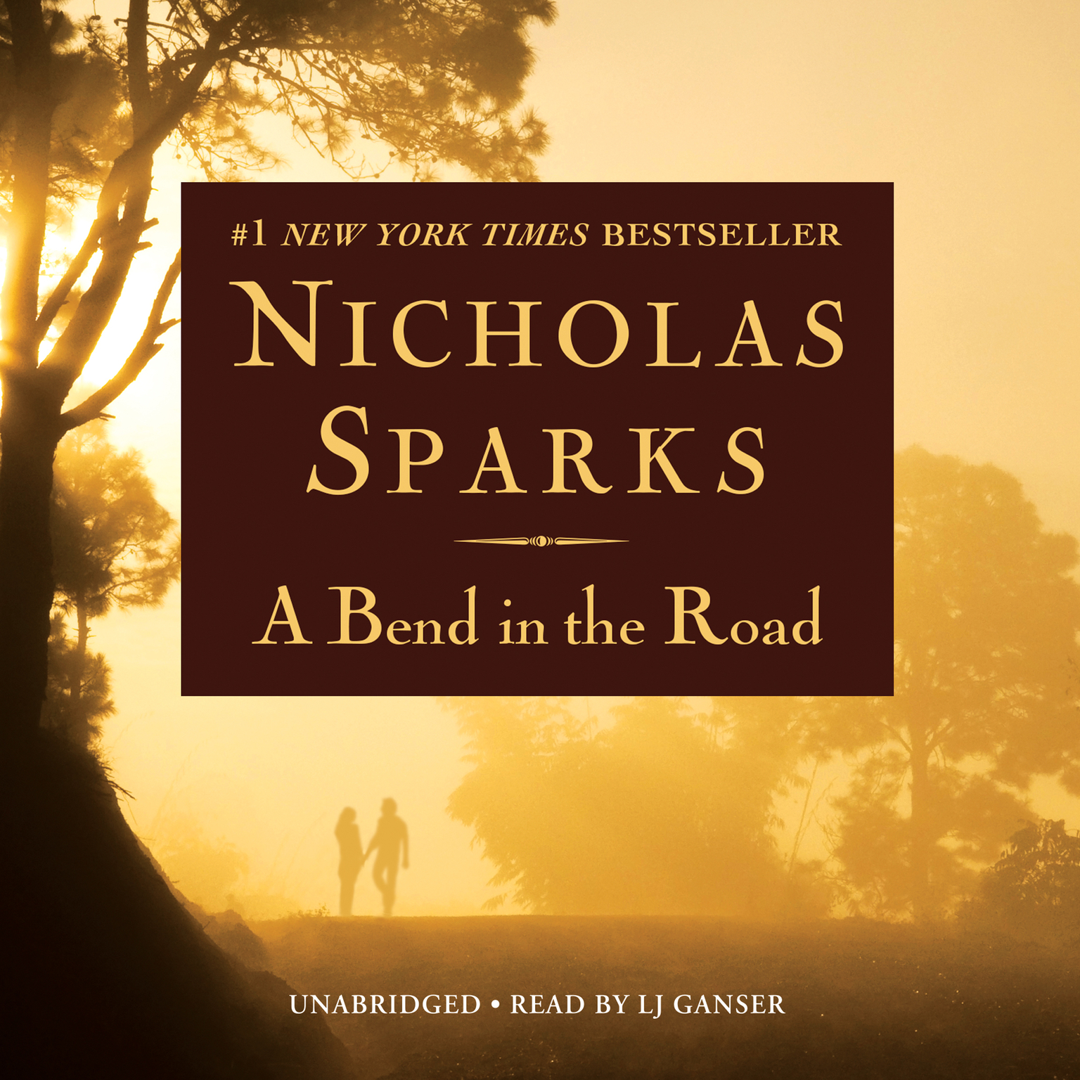 Printable A Bend in the Road Audiobook Cover Art