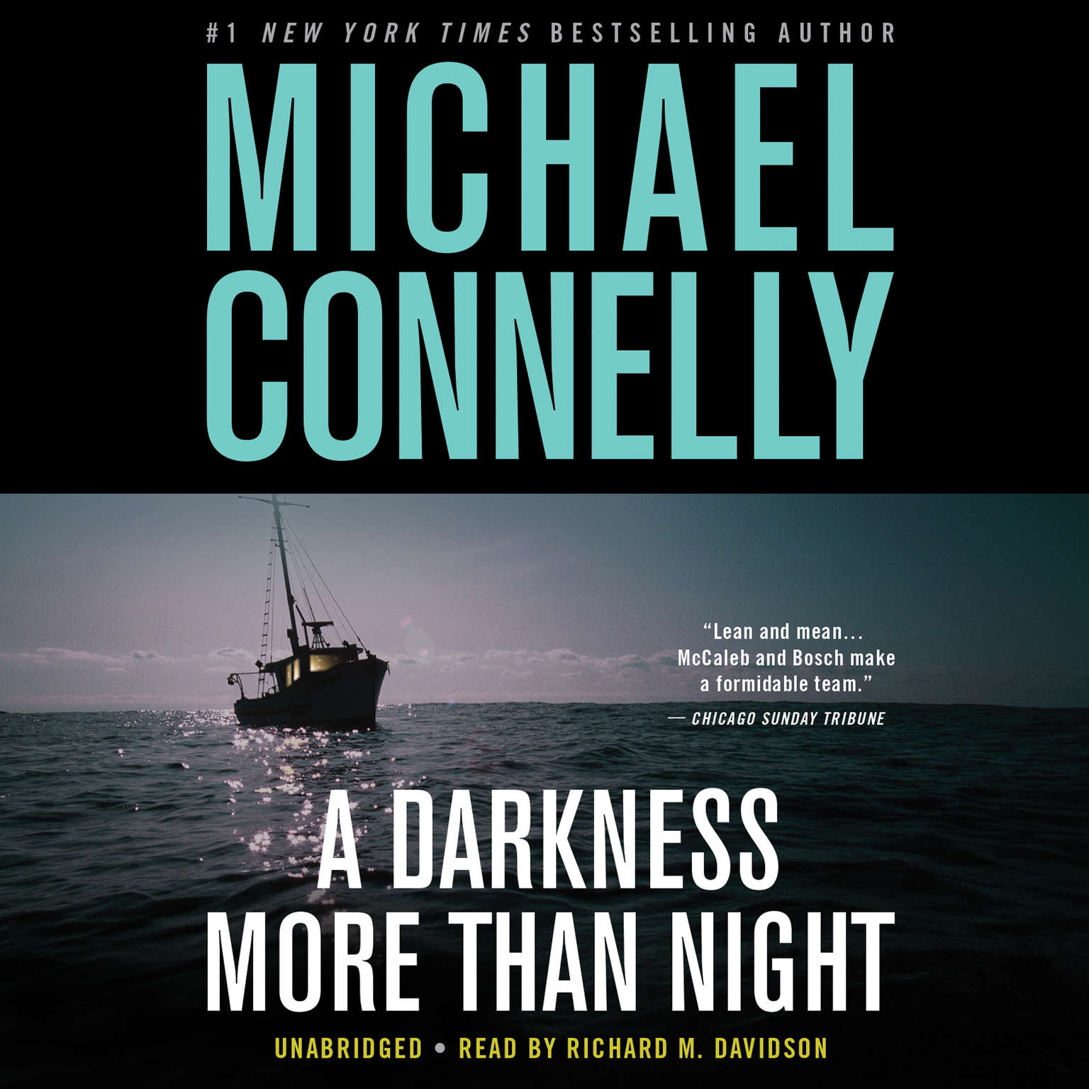 Printable A Darkness More Than Night Audiobook Cover Art