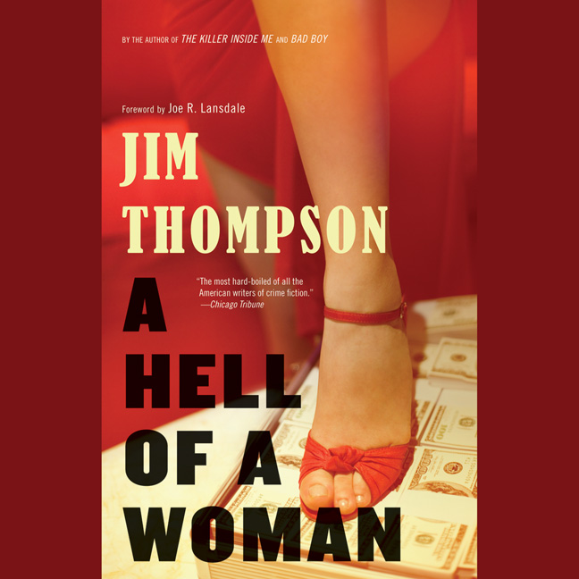 Printable A Hell of a Woman Audiobook Cover Art