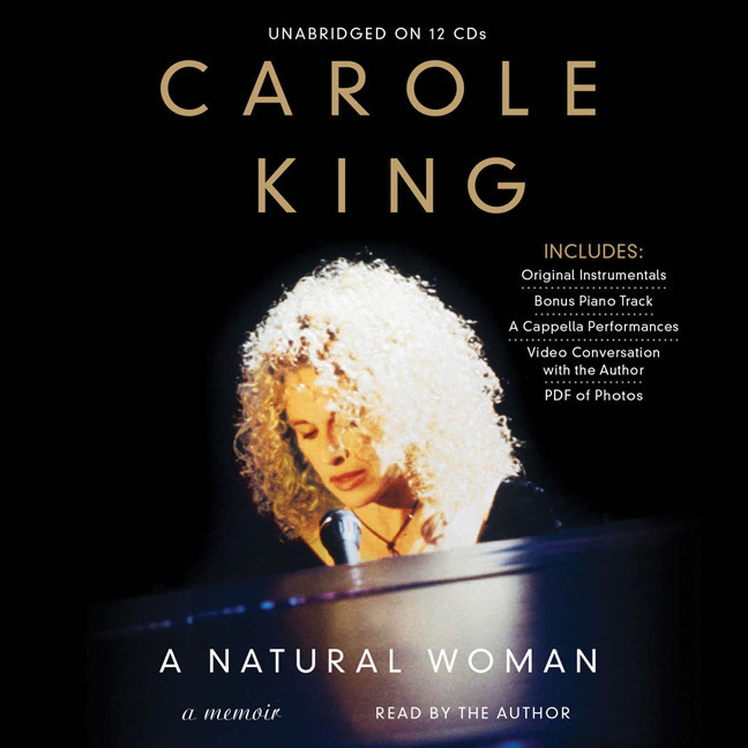 Printable A Natural Woman: A Memoir Audiobook Cover Art
