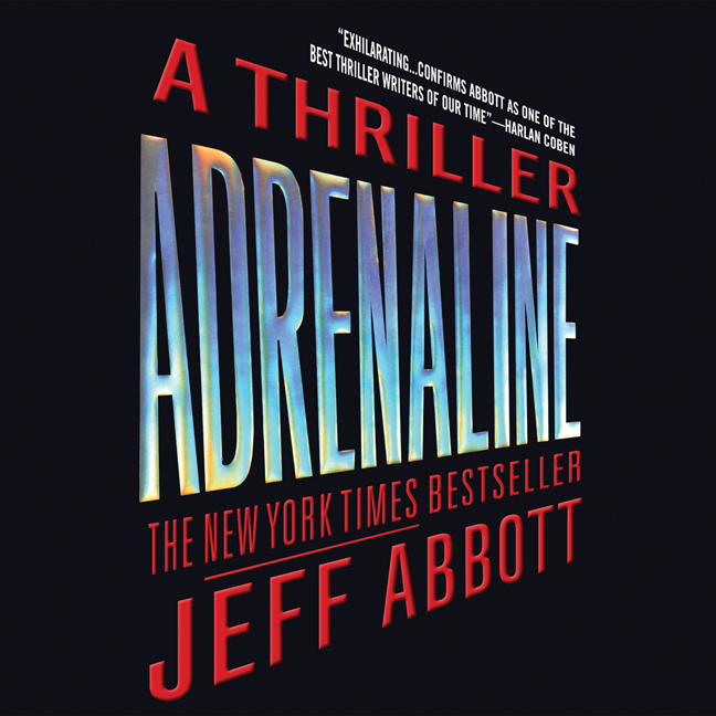 Printable Adrenaline Audiobook Cover Art