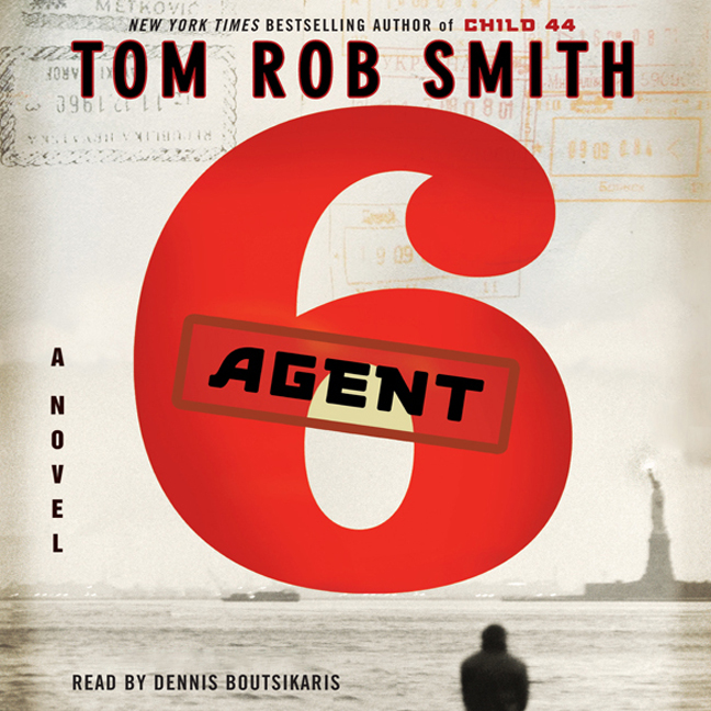 Printable Agent 6 Audiobook Cover Art