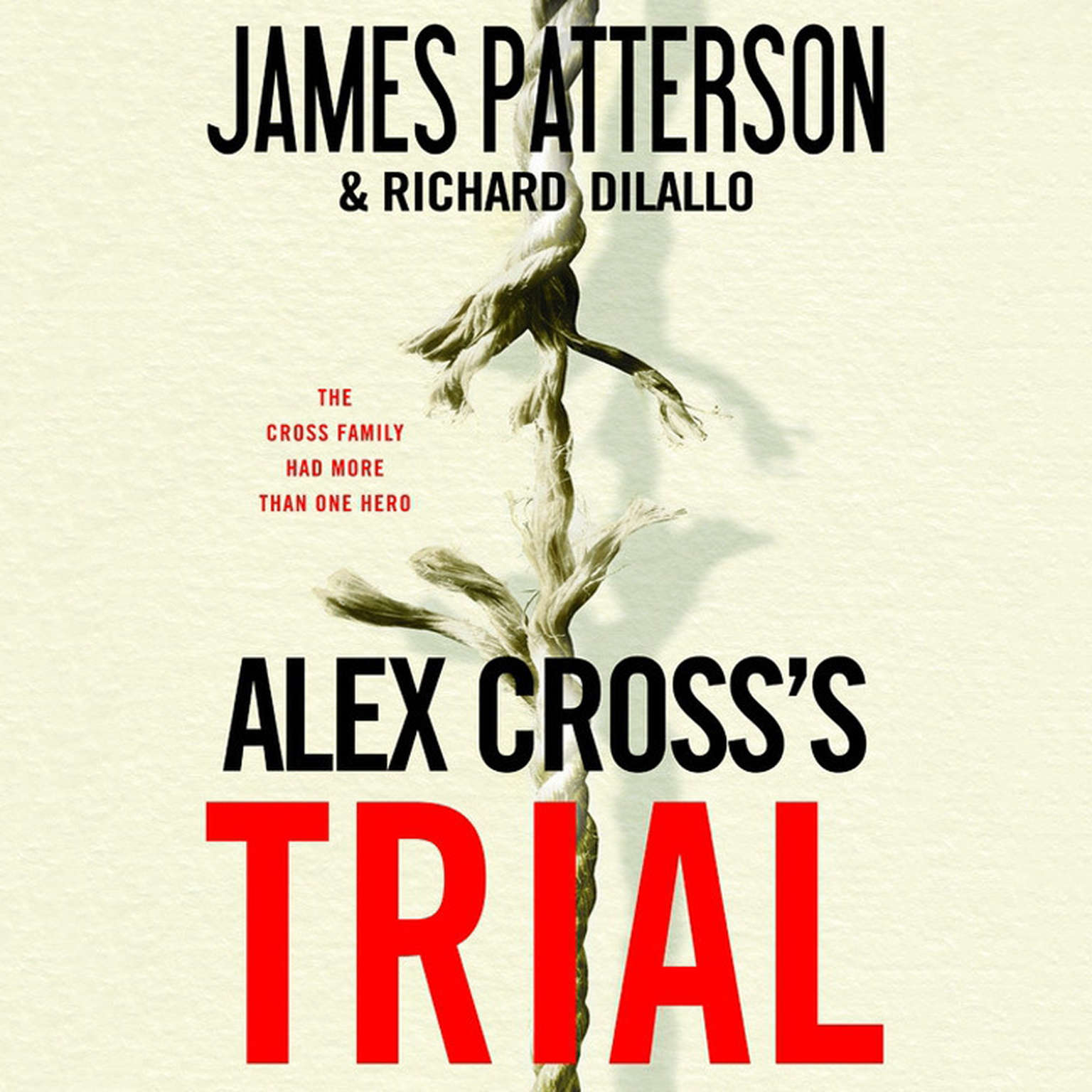 Printable Alex Cross's TRIAL Audiobook Cover Art