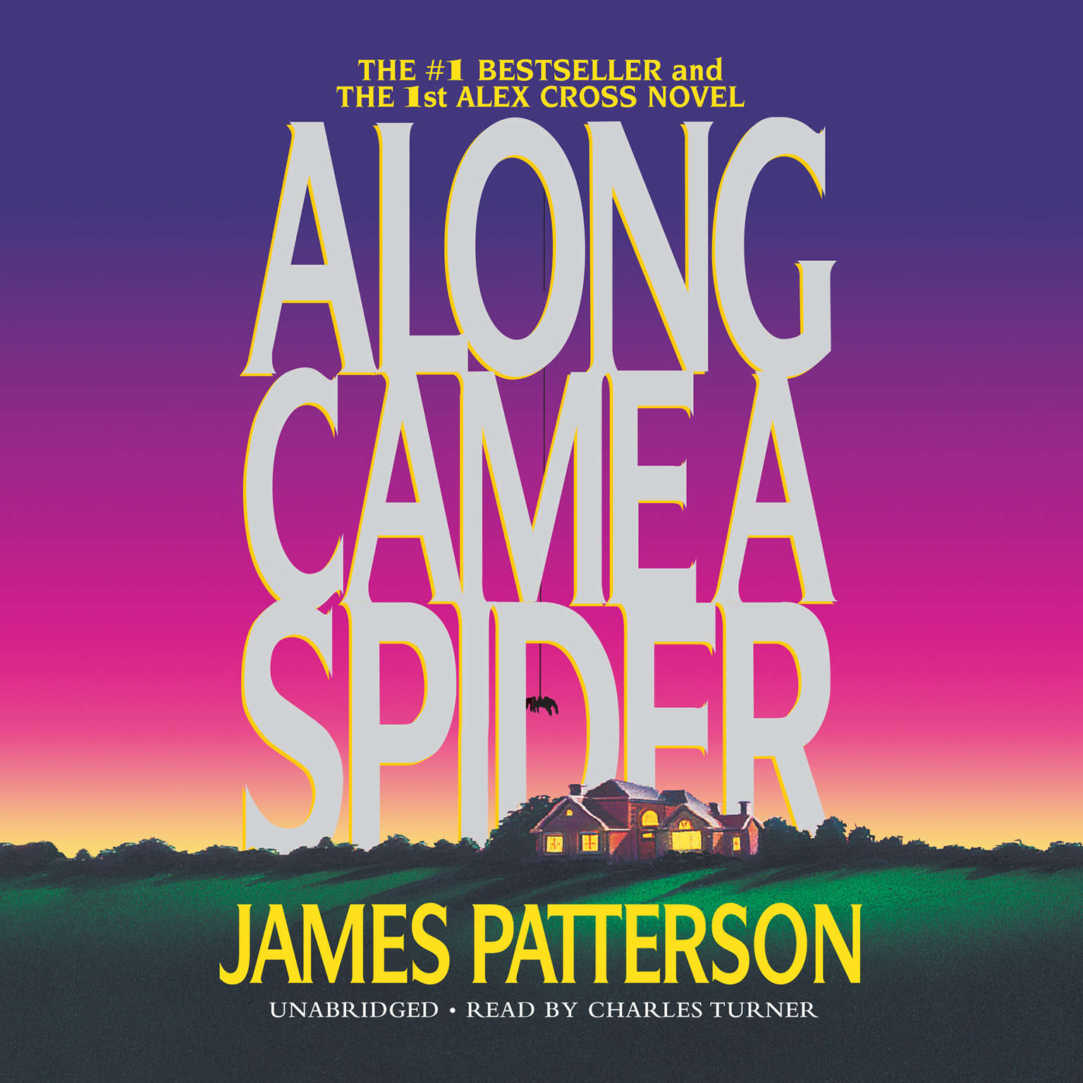 Printable Along Came a Spider Audiobook Cover Art