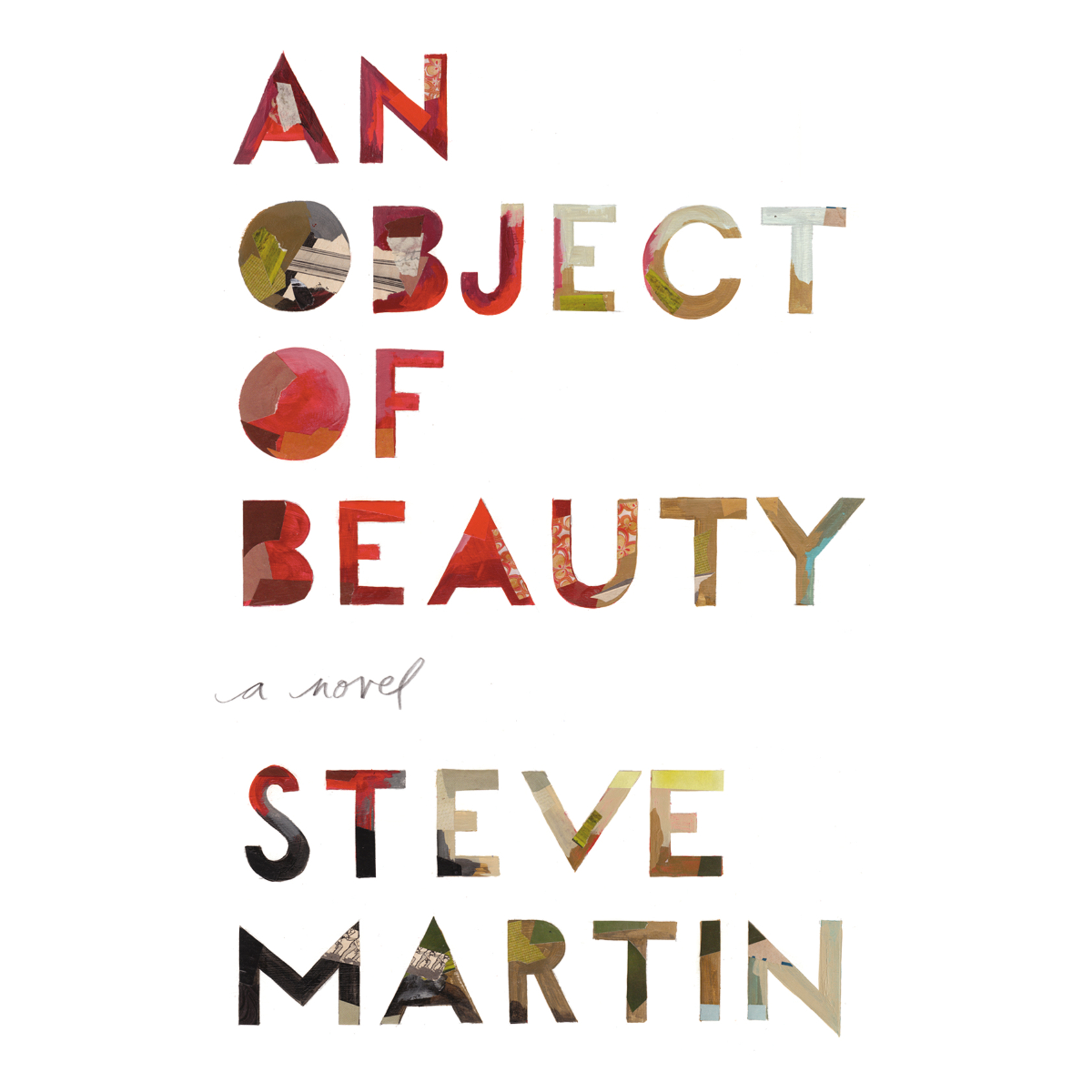 Printable An Object of Beauty: A Novel Audiobook Cover Art