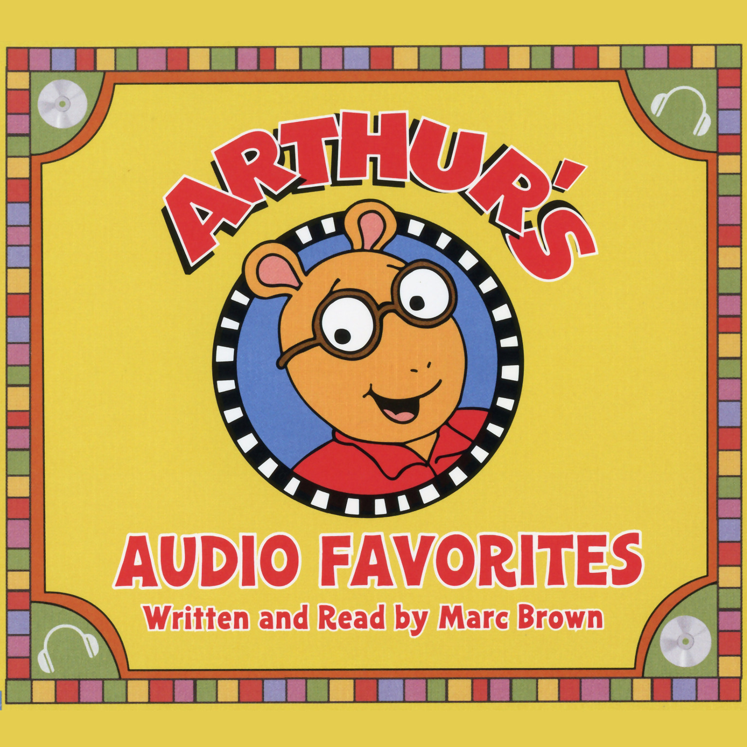 Printable Arthur's Audio Favorites, Volume 1 Audiobook Cover Art