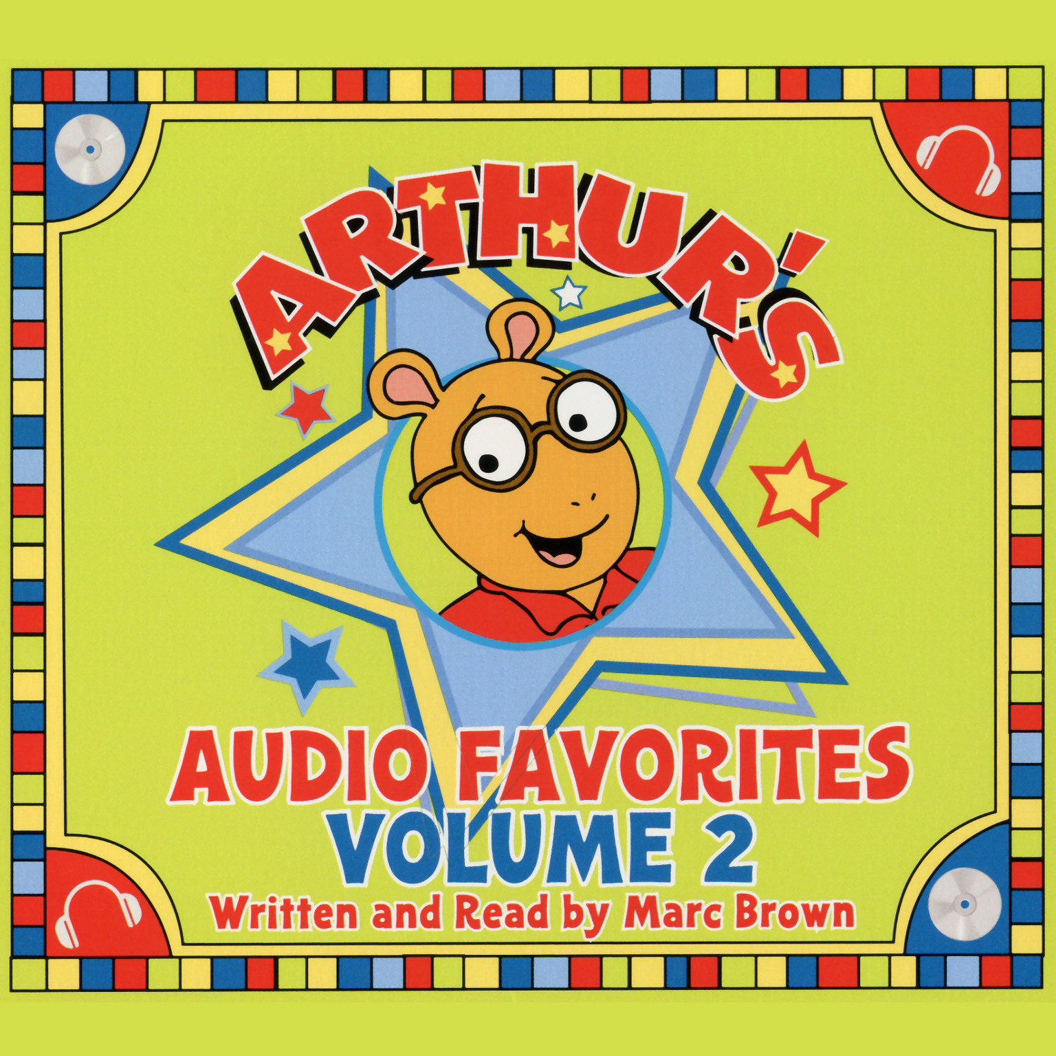 Printable Arthur's Audio Favorites, Vol. 2 Audiobook Cover Art