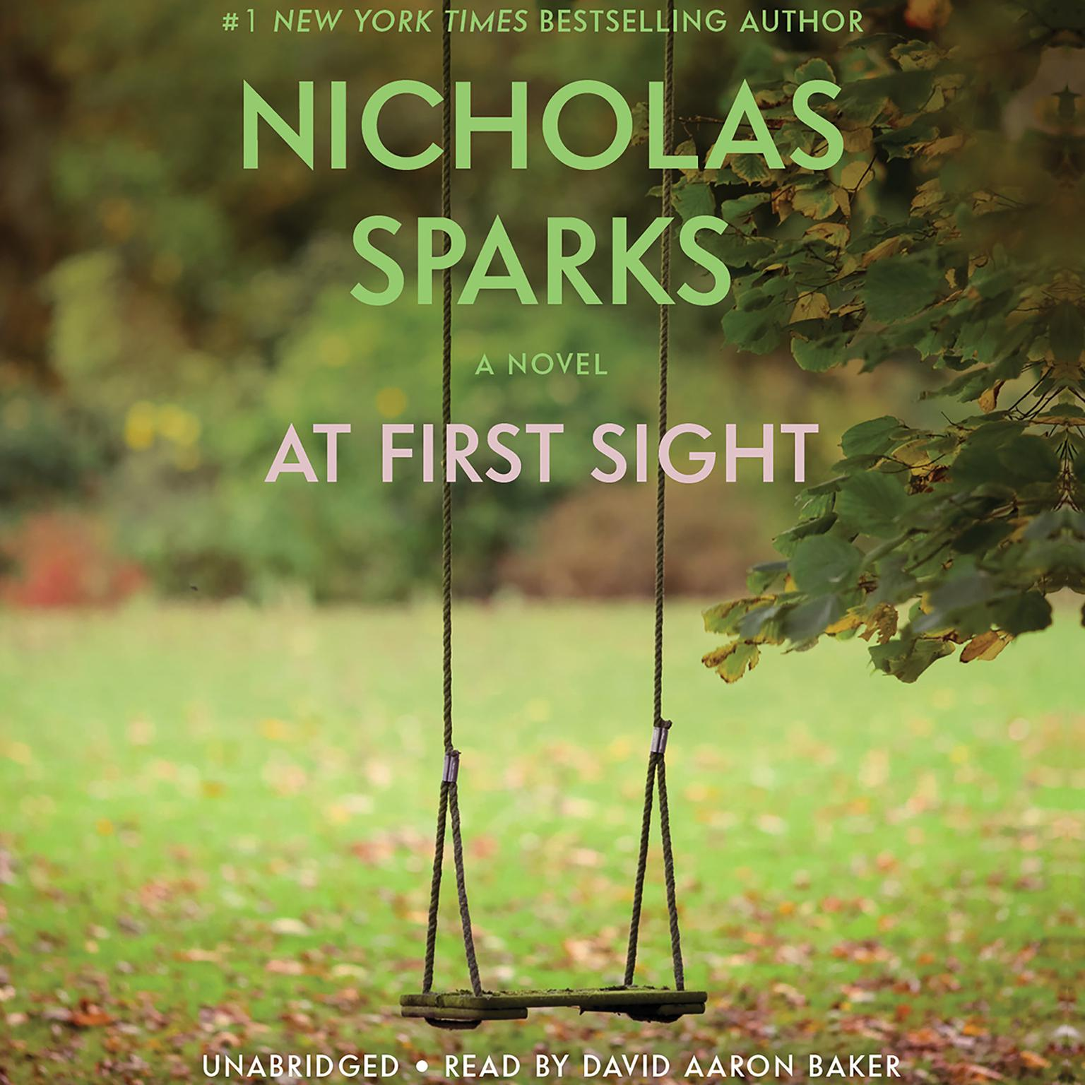 Printable At First Sight Audiobook Cover Art