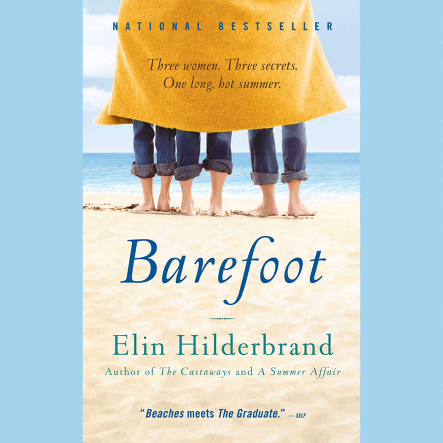 Printable Barefoot: A Novel Audiobook Cover Art