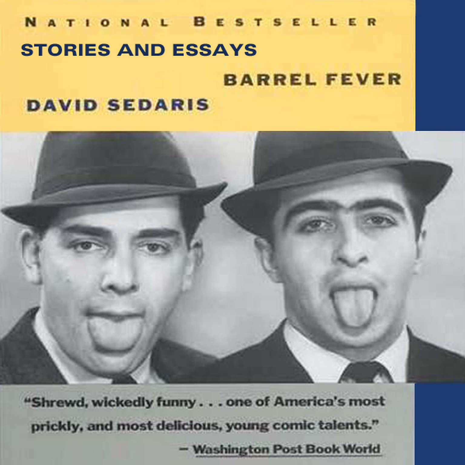 Printable Barrel Fever and Other Stories Audiobook Cover Art