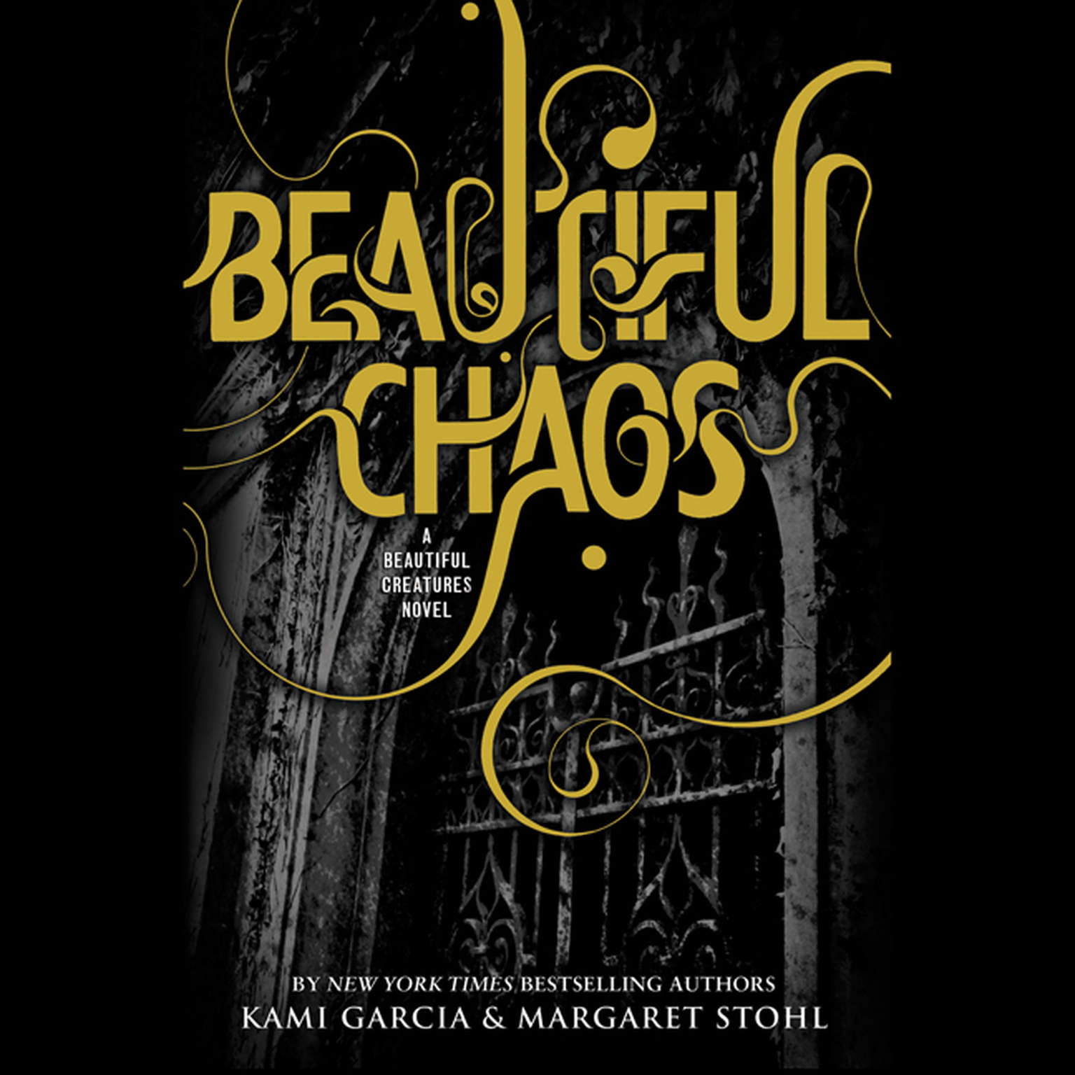 Printable Beautiful Chaos Audiobook Cover Art